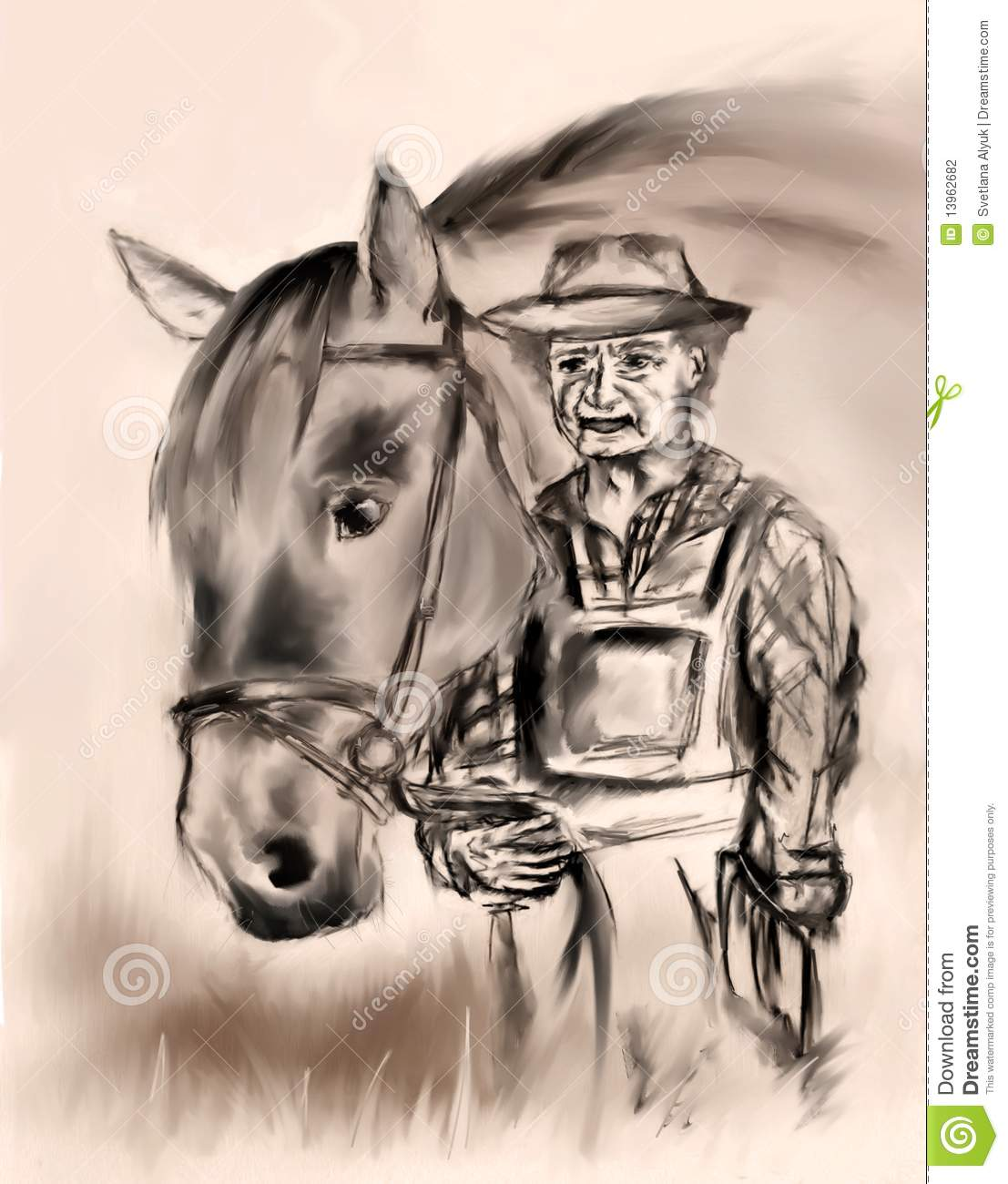 Old Horse Stock Illustrations 14 267 Old Horse Stock Illustrations Vectors Clipart Dreamstime