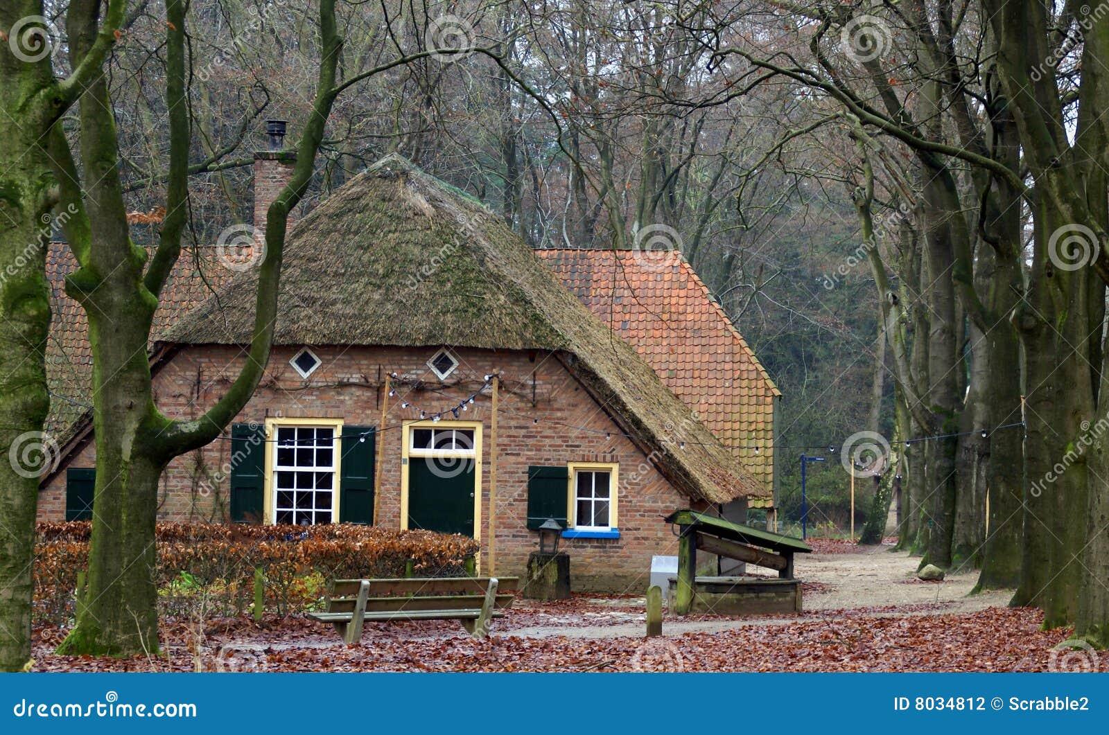 Old farmhouse on the dutch countryside stock photography for Farm house netherlands
