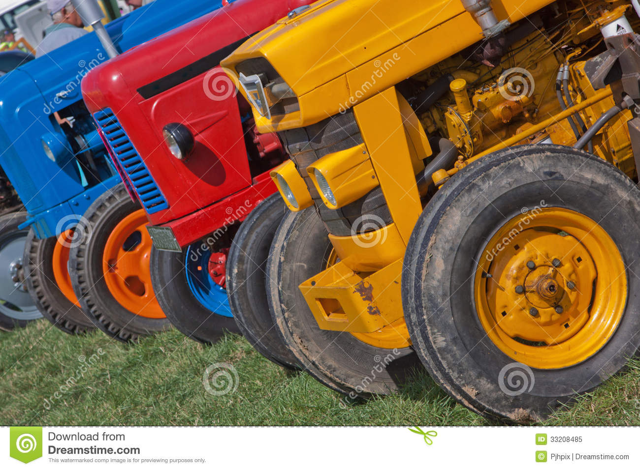 Up The Tractor Green Tractor With Bucket Cartoon : Old tractor colour royalty free cartoon cartoondealer