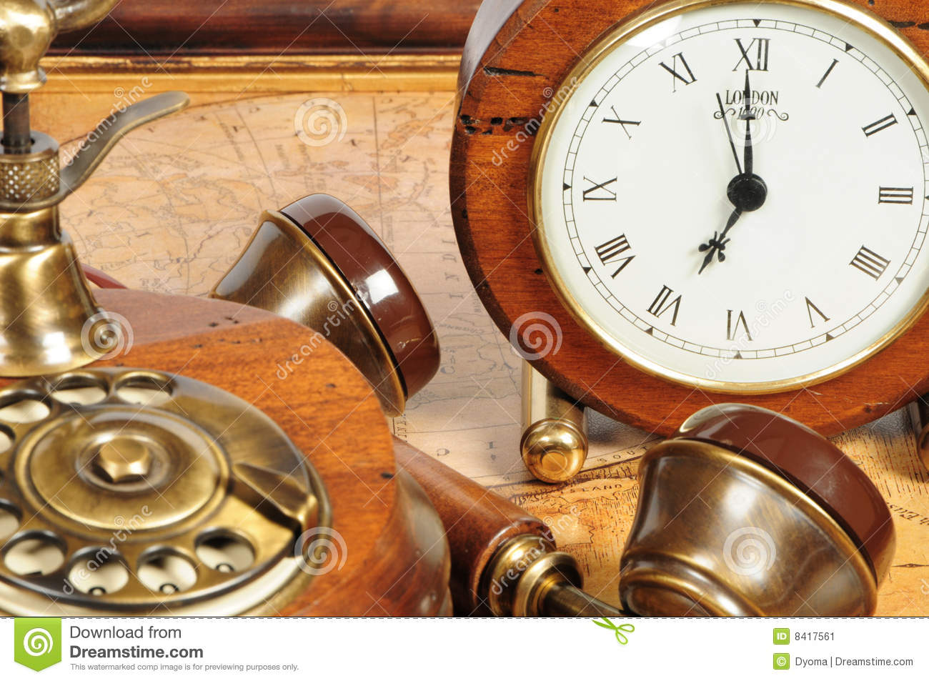 Old fashion objects as background stock image image 8417561 for Old objects