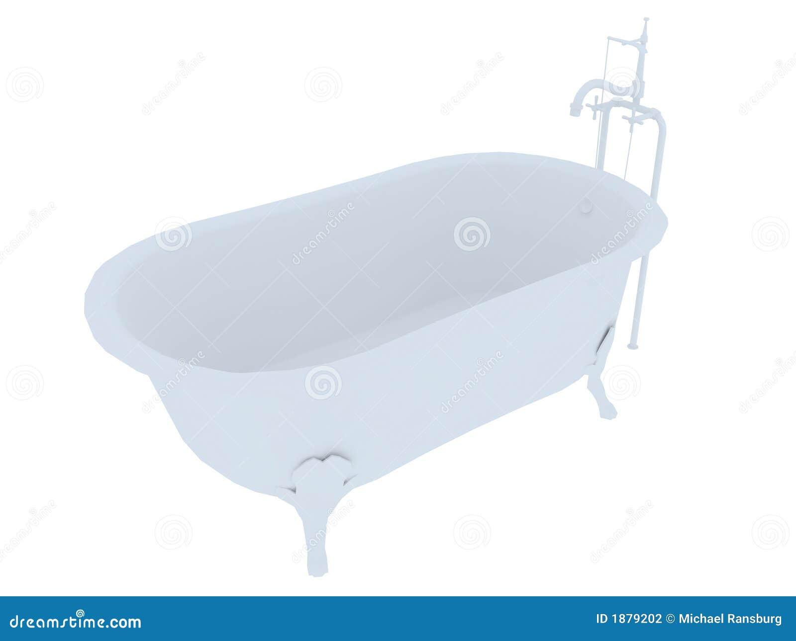 Old Fashioned Bath Tub Stock Photography Image 1879202