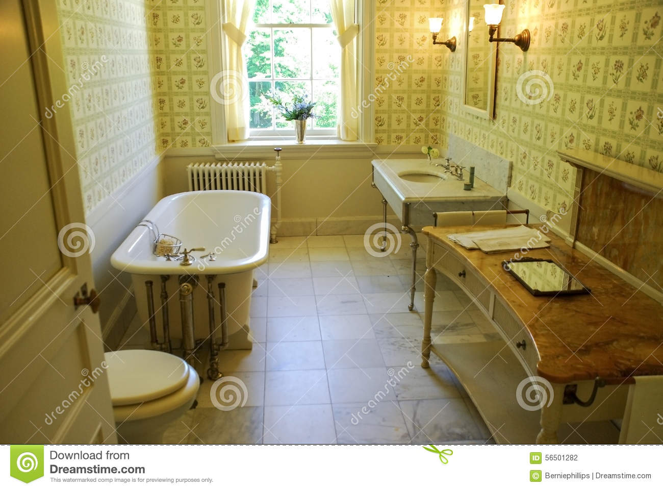 Old Fashioned Bathroom Editorial Photography Image Of