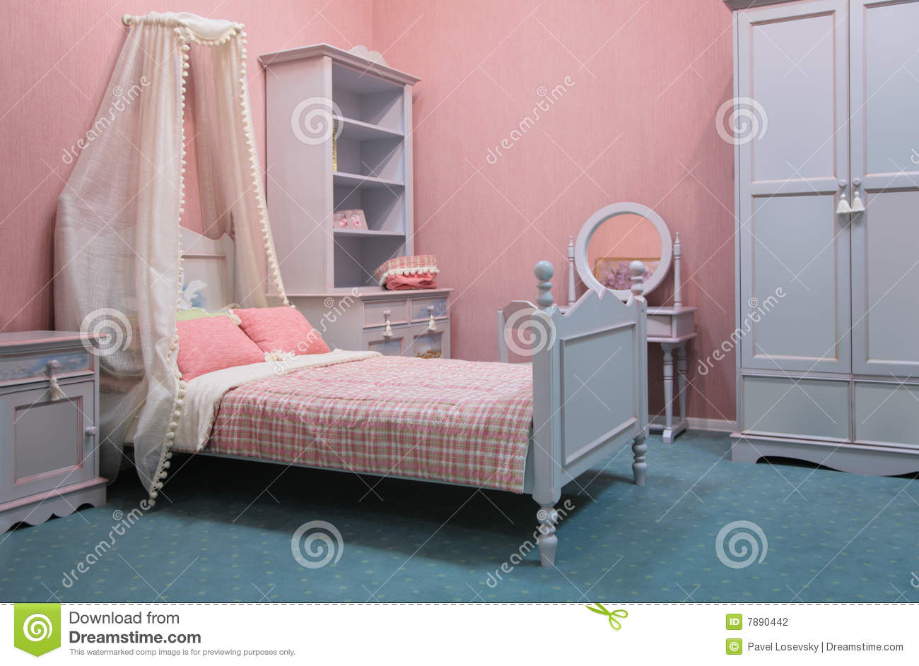 old fashioned bedroom stock photography image 7890442