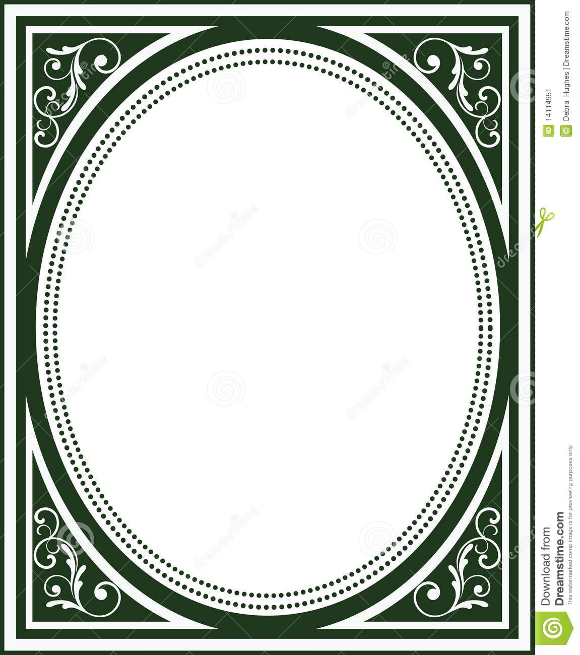 Glasses Frame Covers : Old Fashioned Book Cover Frame Stock Image - Image: 14114951