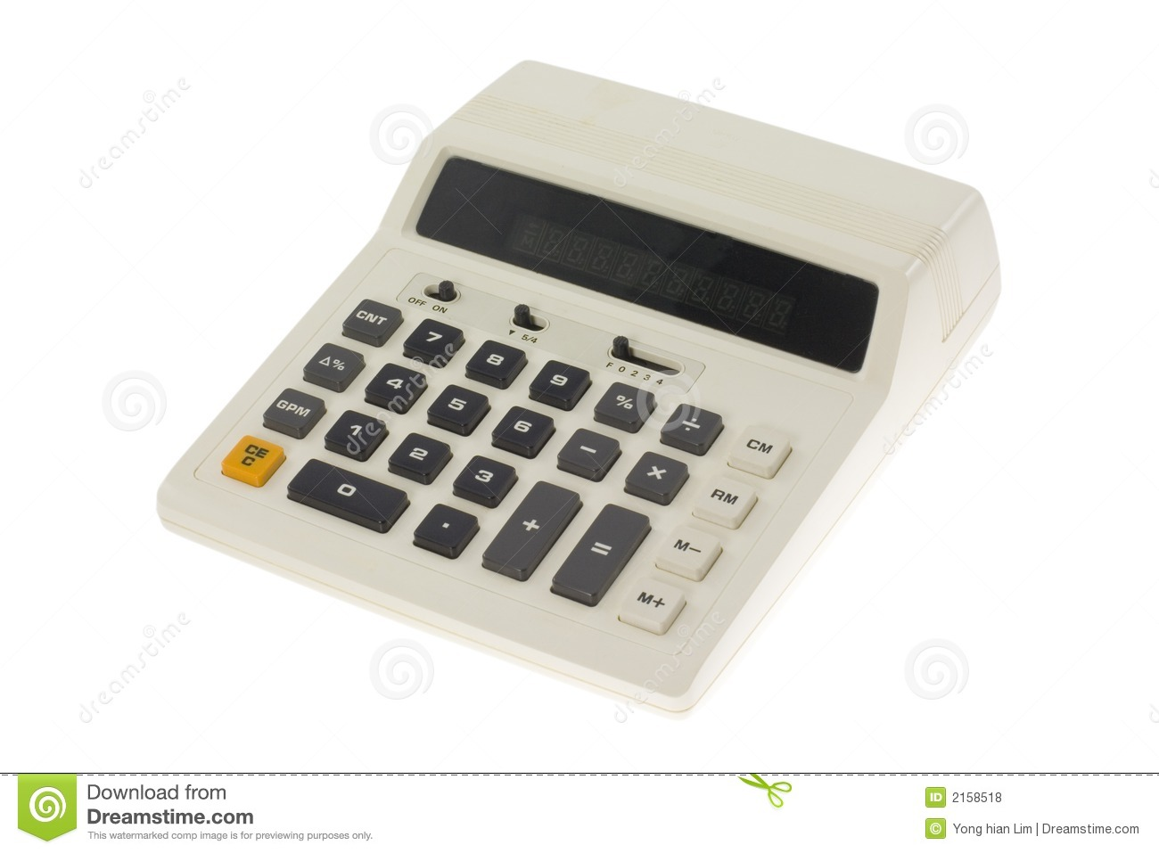 Old Fashioned Calculator Royalty Free Stock Photos - Image: 2158518