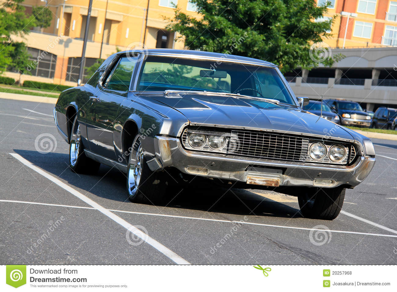 Old Fashioned Car stock photo. Image of film, parking - 20257968