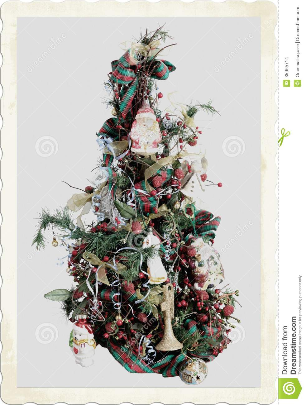 Old Fashioned Christmas stock photo. Image of grey, timey ...