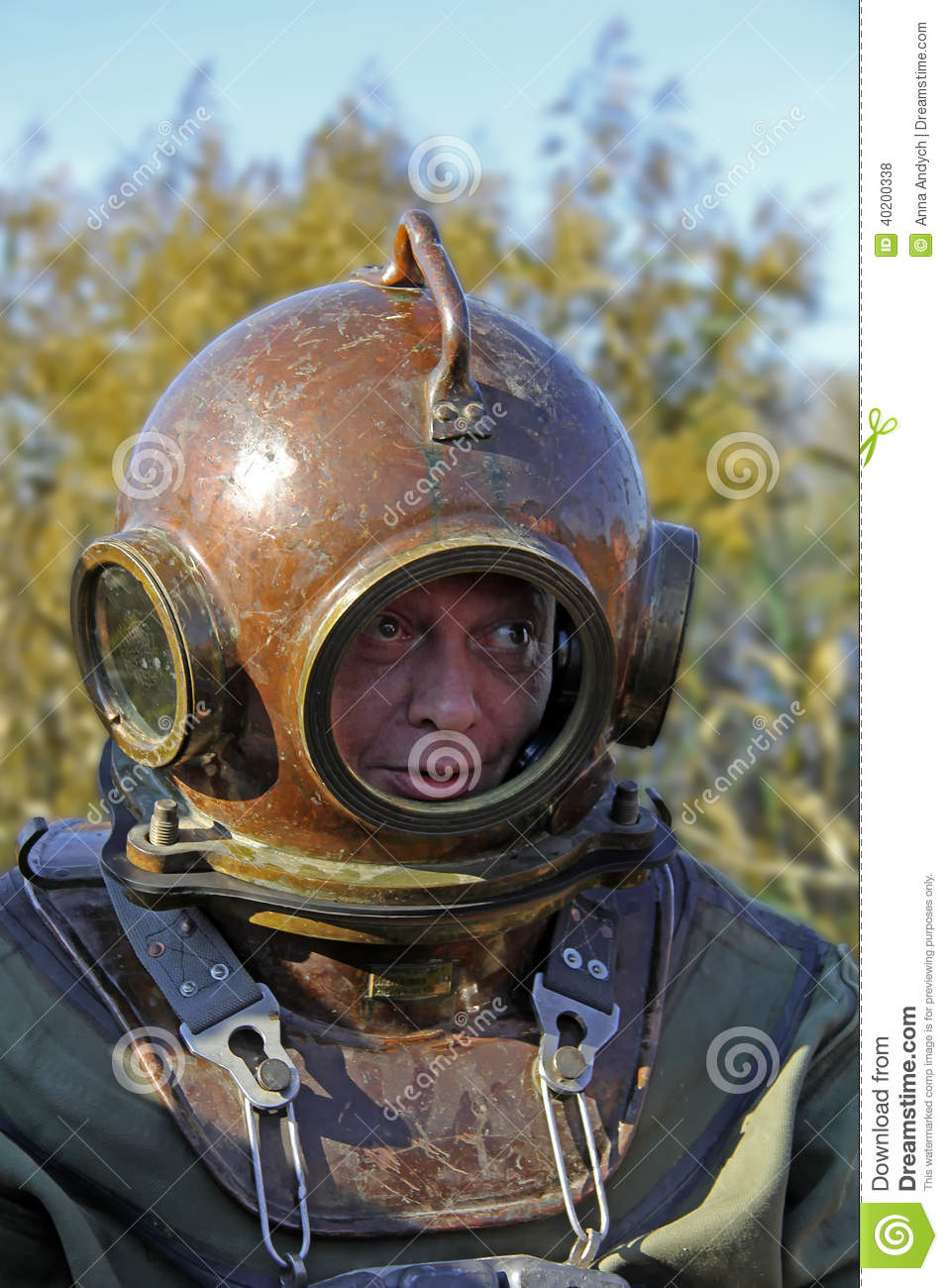 Scuba Diving Gear Old Fashioned
