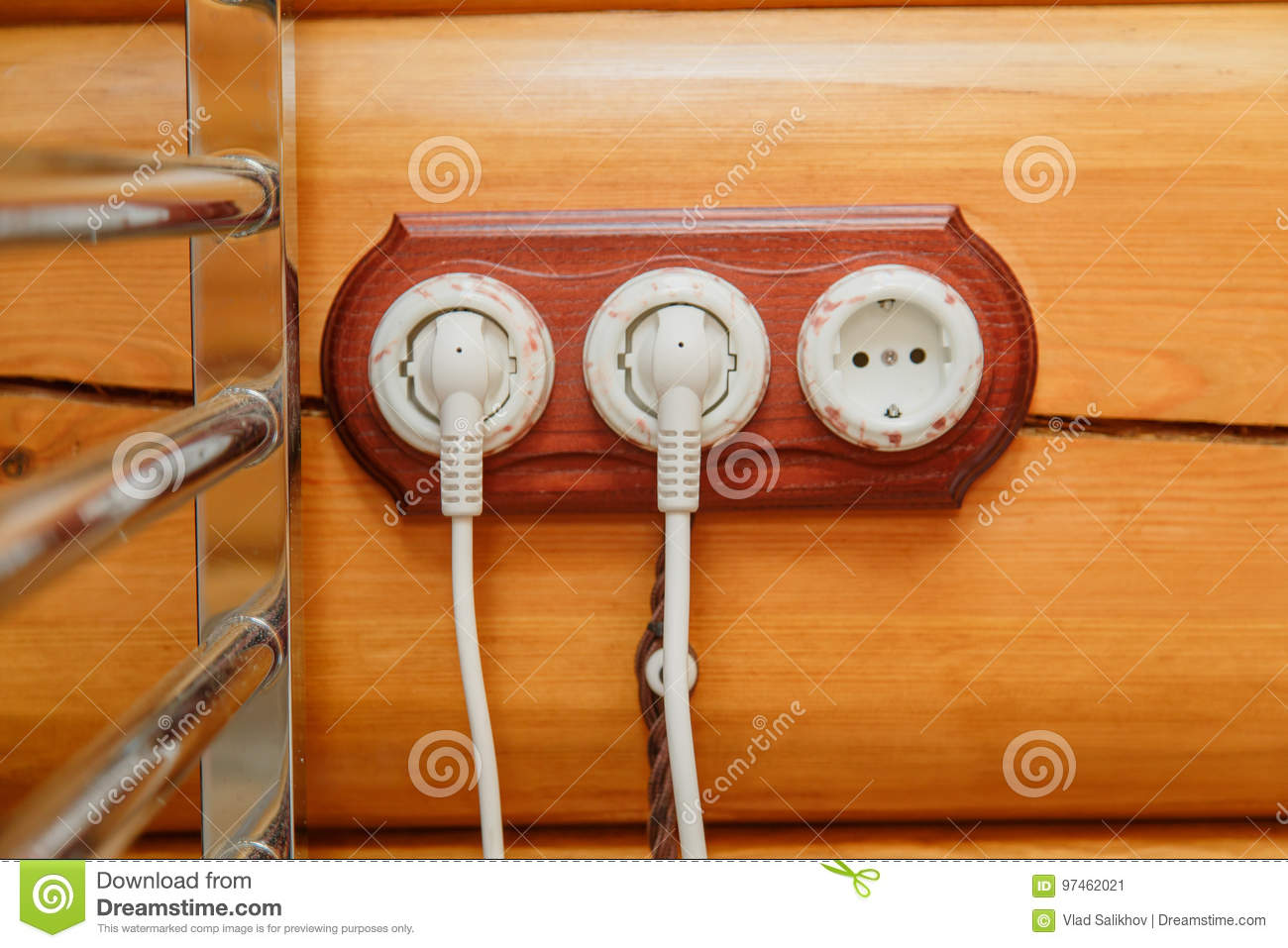 Old Fashioned Electricity Switches Socket Electric Wire In On A Wiring Light Switch And Download Wooden Wall