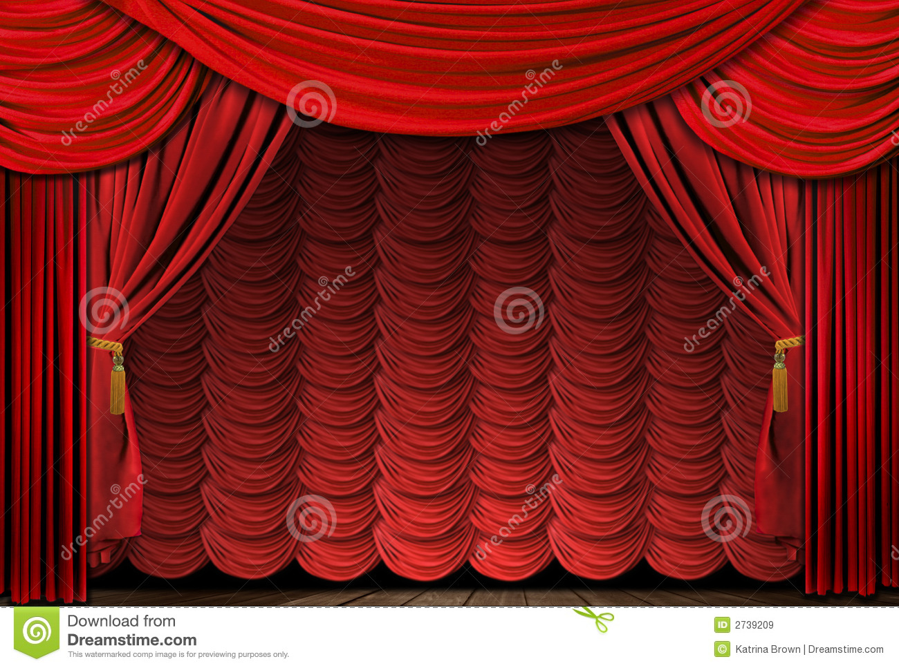 Stock photo dramatic red old fashioned elegant theater stage stock - Royalty Free Stock Photo Curtains Drapes Elegant Stage Theater