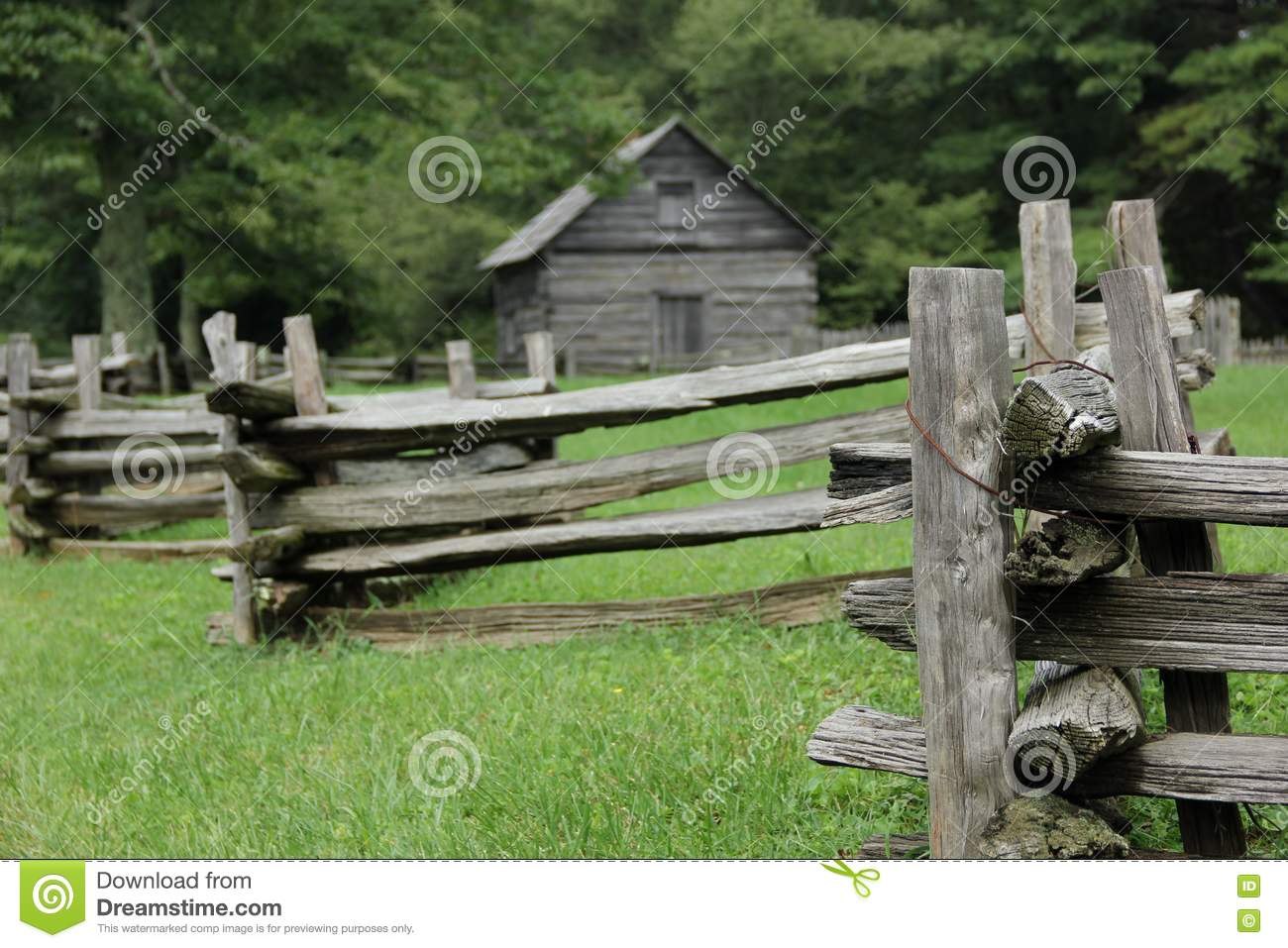 Old Fashioned Fence