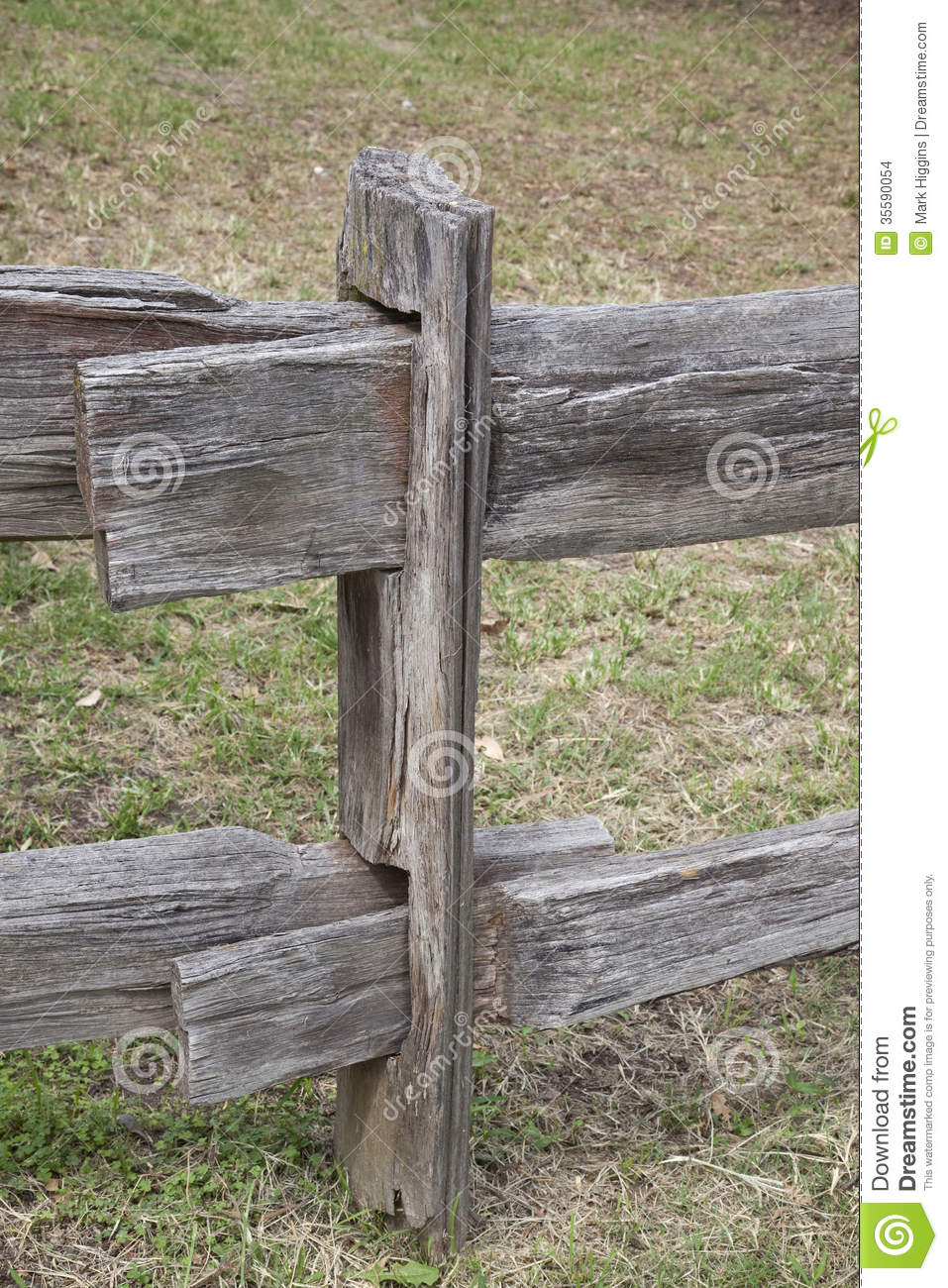 Old Fashioned Fence Post Stock Photo Image Of Border