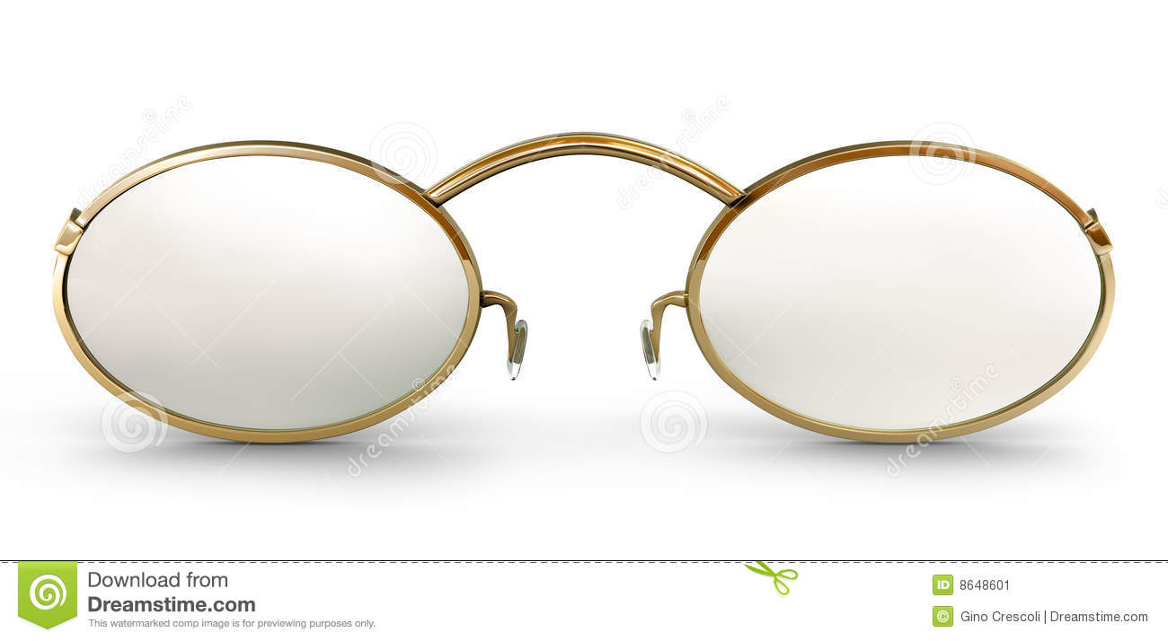 Old Fashioned Glasses Frame : Old Fashioned Glasses Stock Image - Image: 8648601