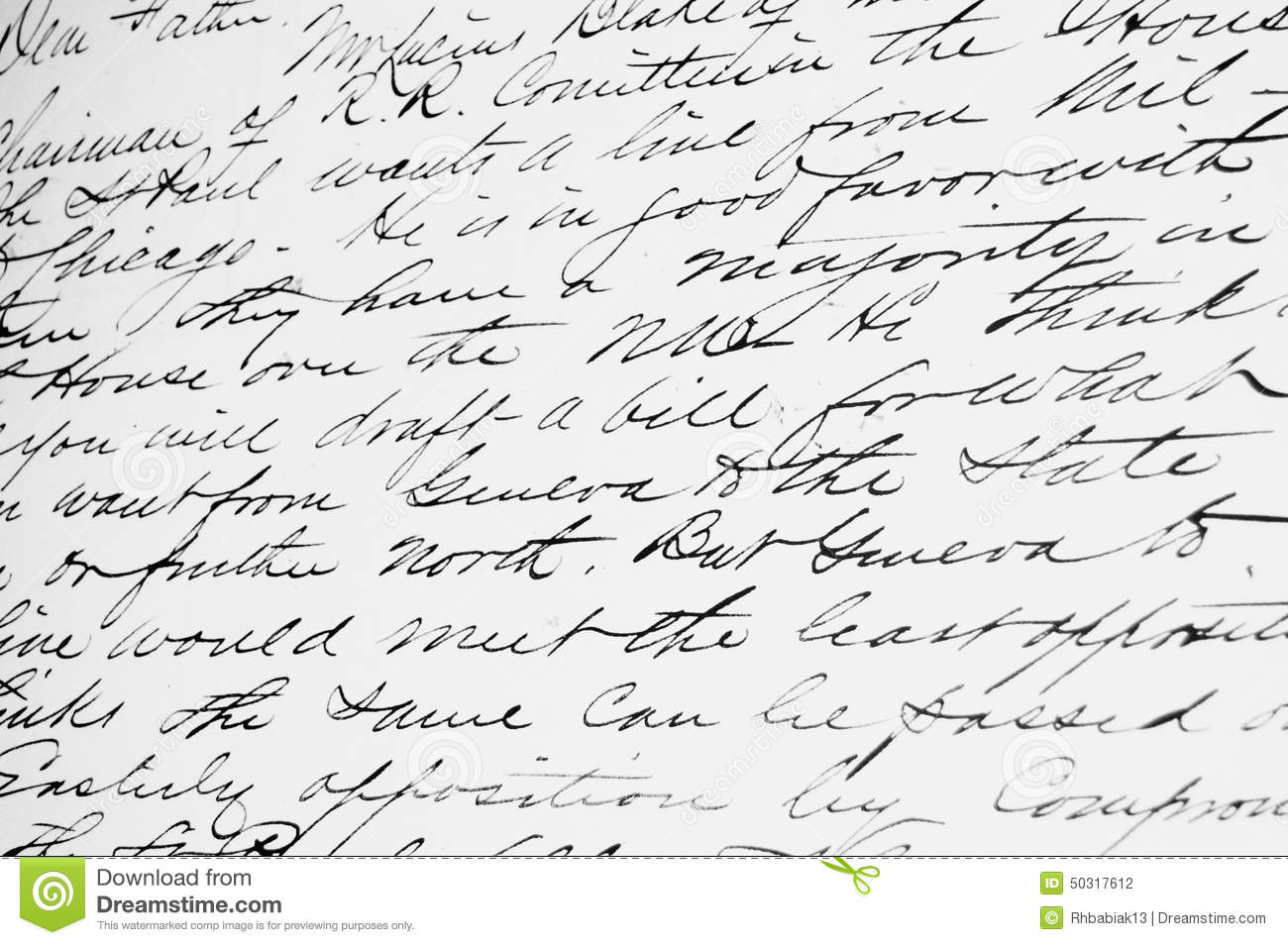 Stock Photo Old Fashioned Handwriting Cursive Background Image50317612 on 8 How To Write As In Cursive