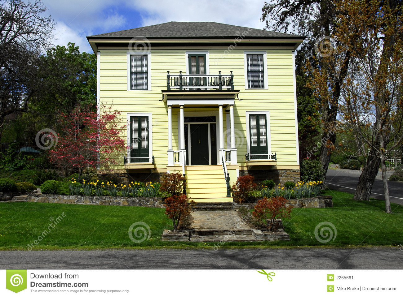 Old Fashioned Home Stock Image Image Of Architecture
