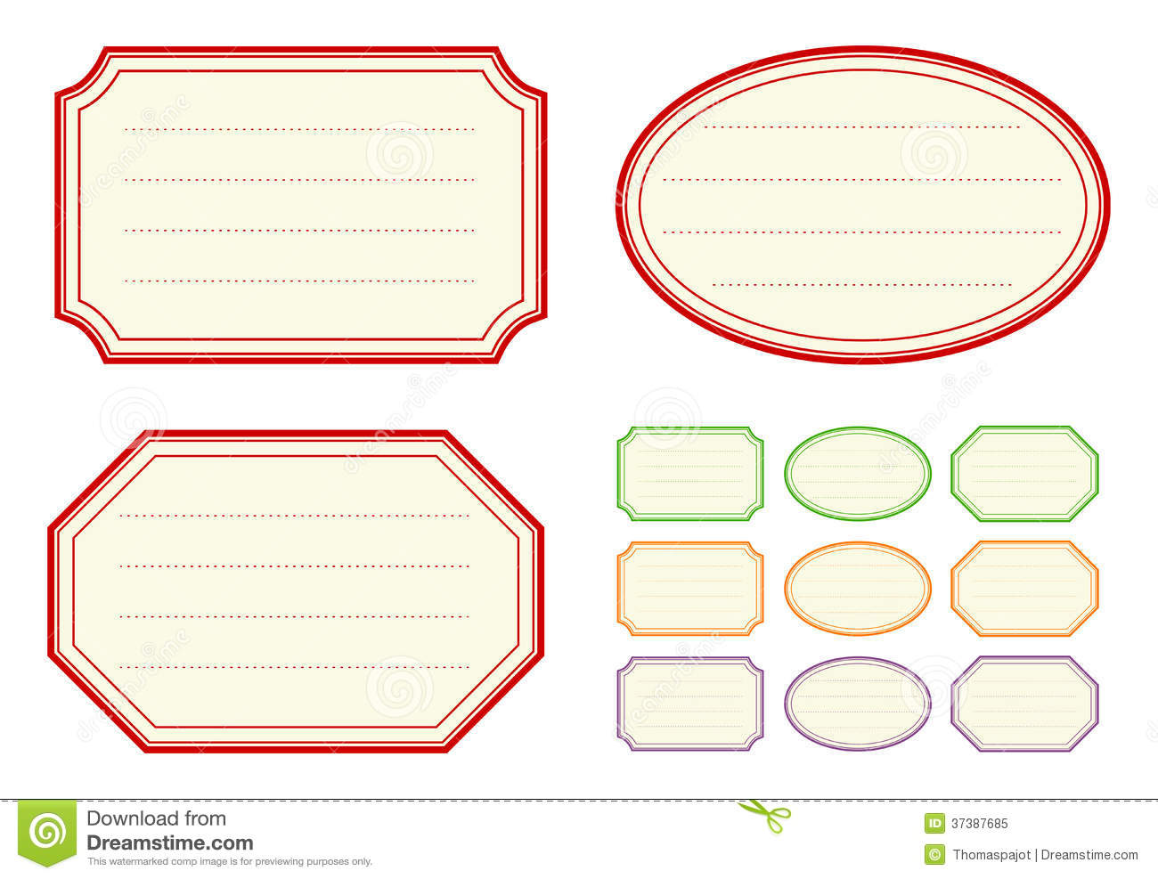 Old Fashioned Jam Label Templates  Free Label Templates Download