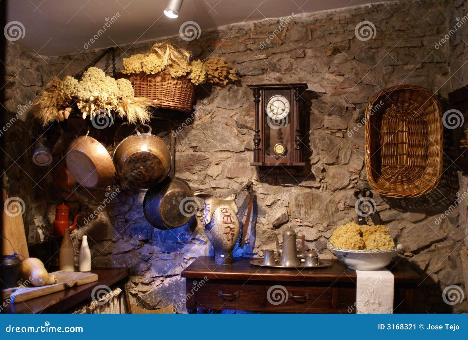 Old Fashioned Kitchen Old Fashioned Kitchen Stock Image Image 3168321