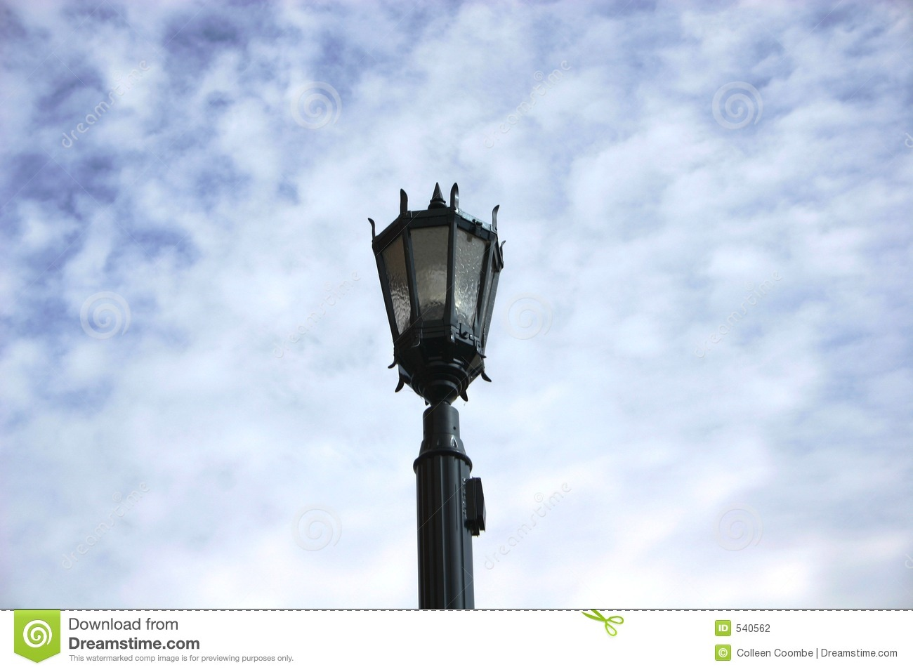 Old Fashioned Light Fixture Stock Photography - Image: 540562