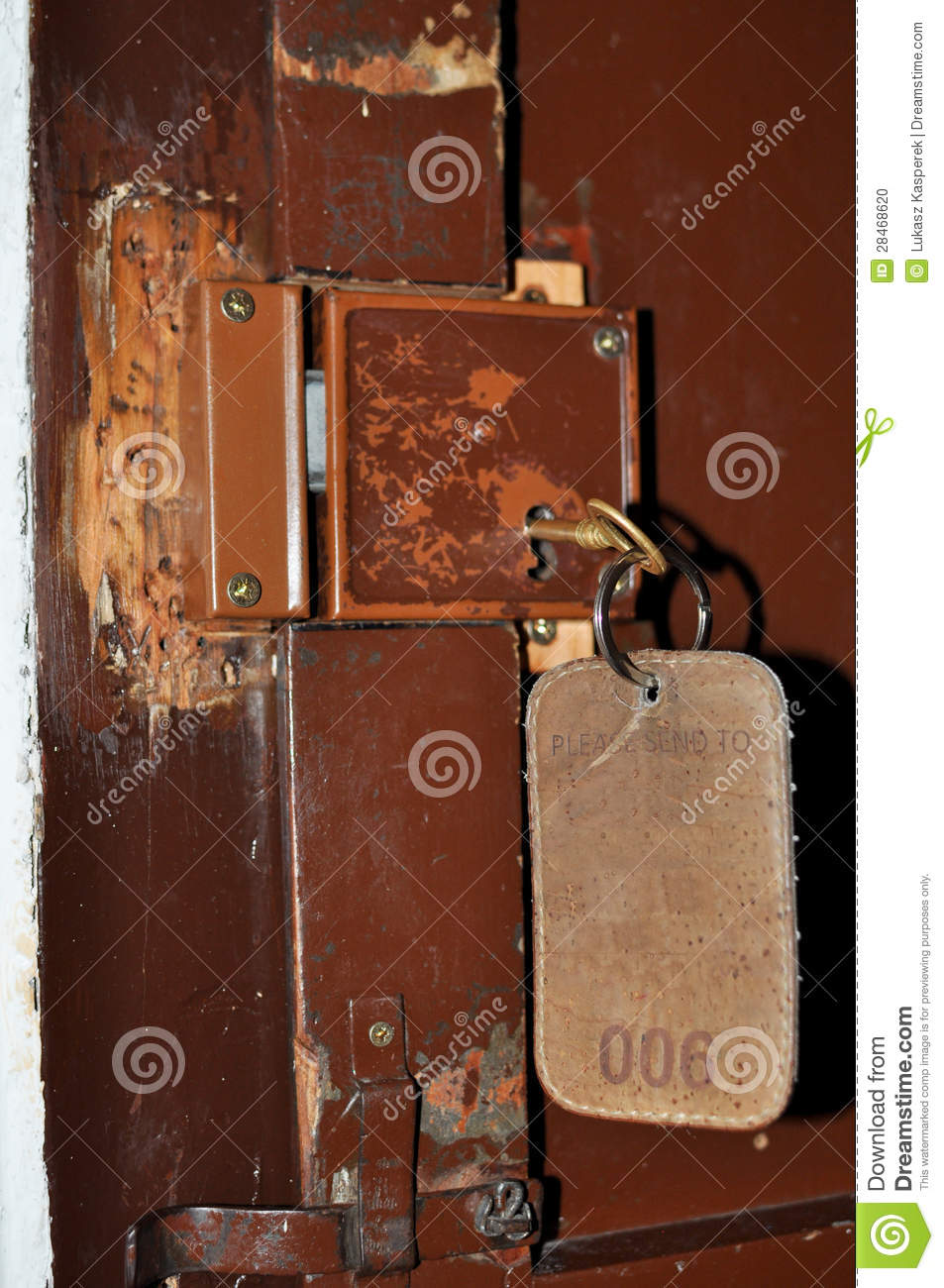 Old Fashioned Lock And Key Stock Photo Image Of Classic