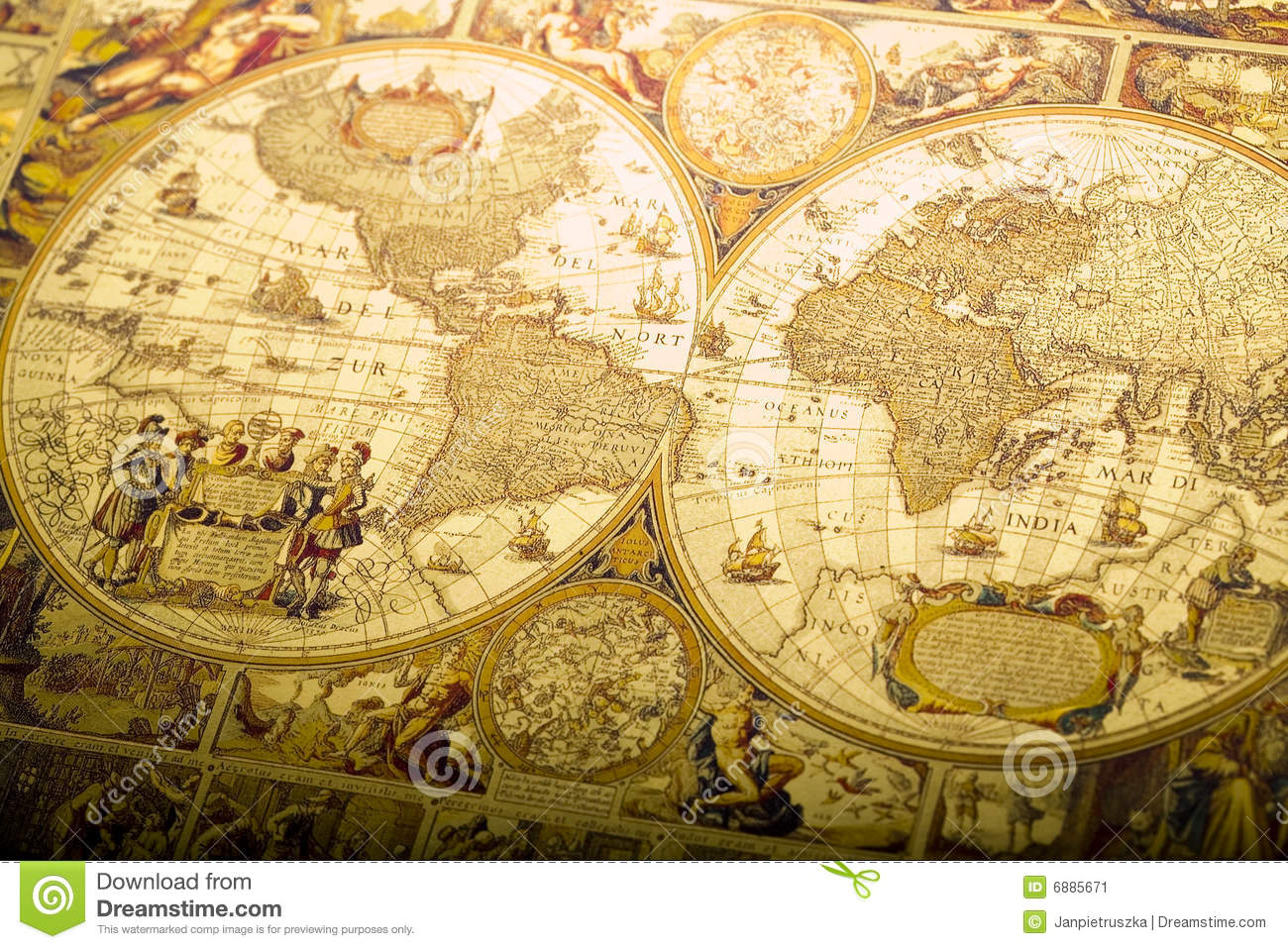 Old fashioned map stock image image of graphic antique 6885671 old fashioned map graphic antique royalty free stock photo gumiabroncs