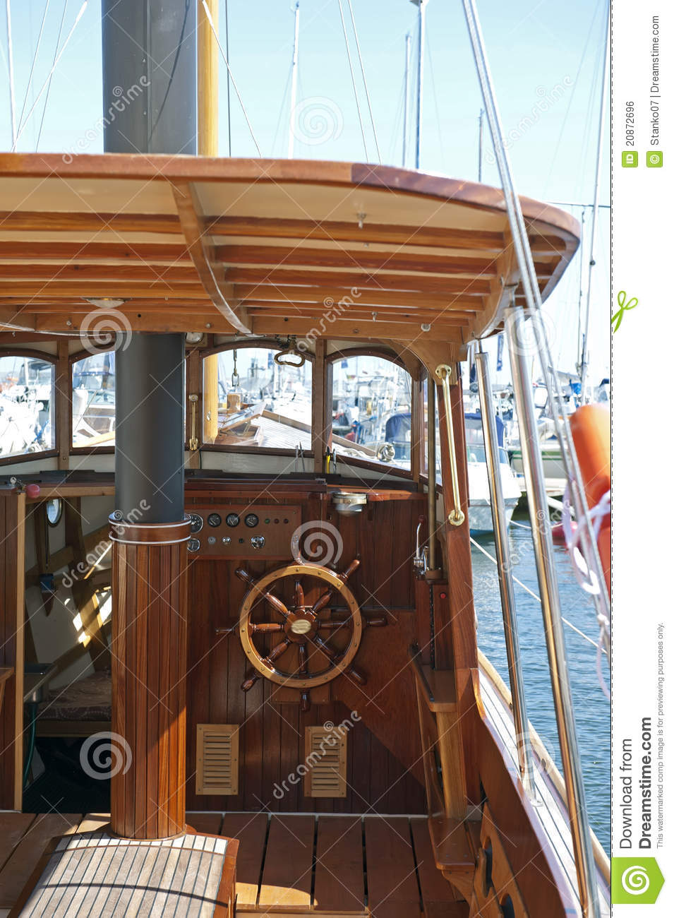 Old Fashioned Motor Boat Royalty Free Stock Image Image 20872696