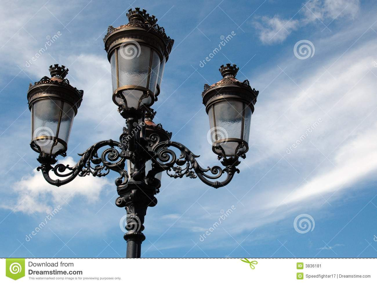 Street Lamps Old Fashioned