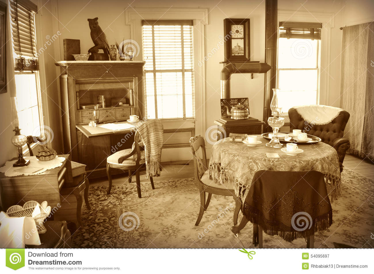 Old Fashioned Parlor Editorial Photography Image 54095697