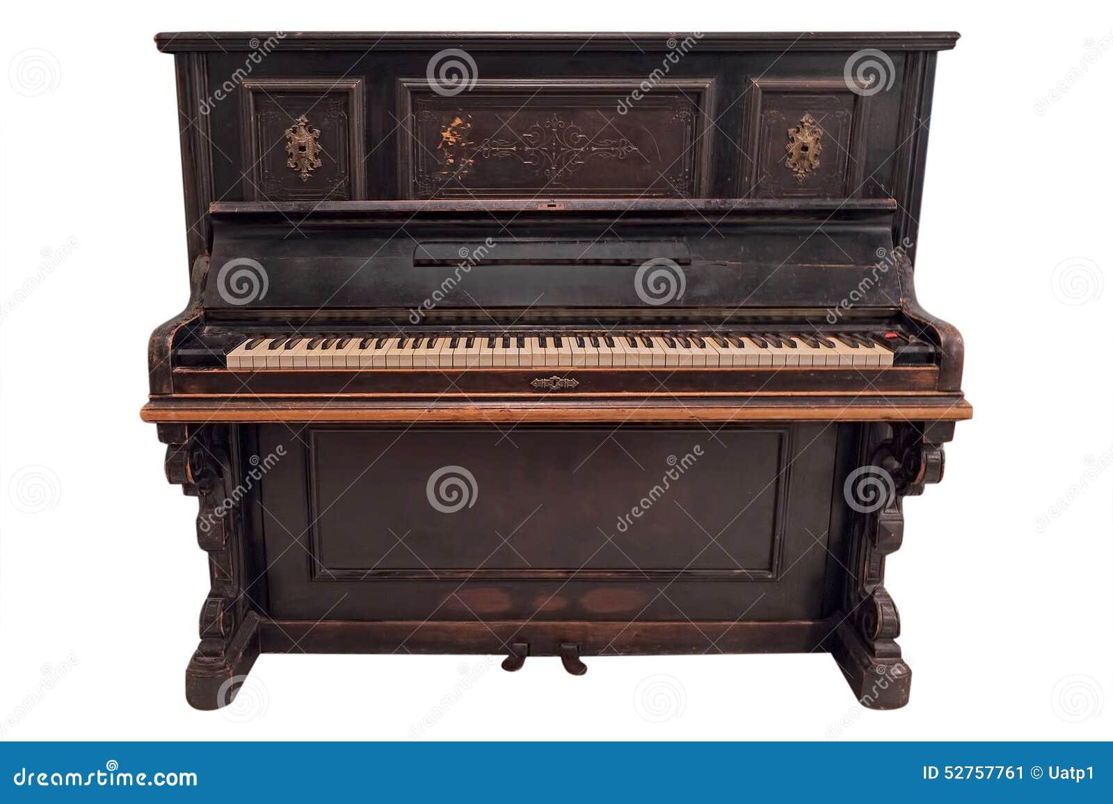 Old fashioned piano