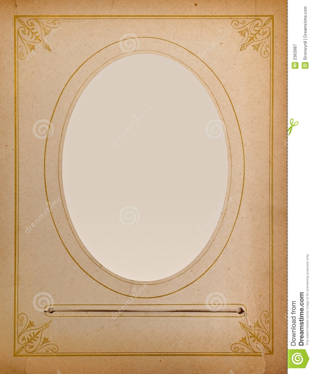 Old-fashioned Portrait Frame Stock Image - Image of dirty, nostalgia ...