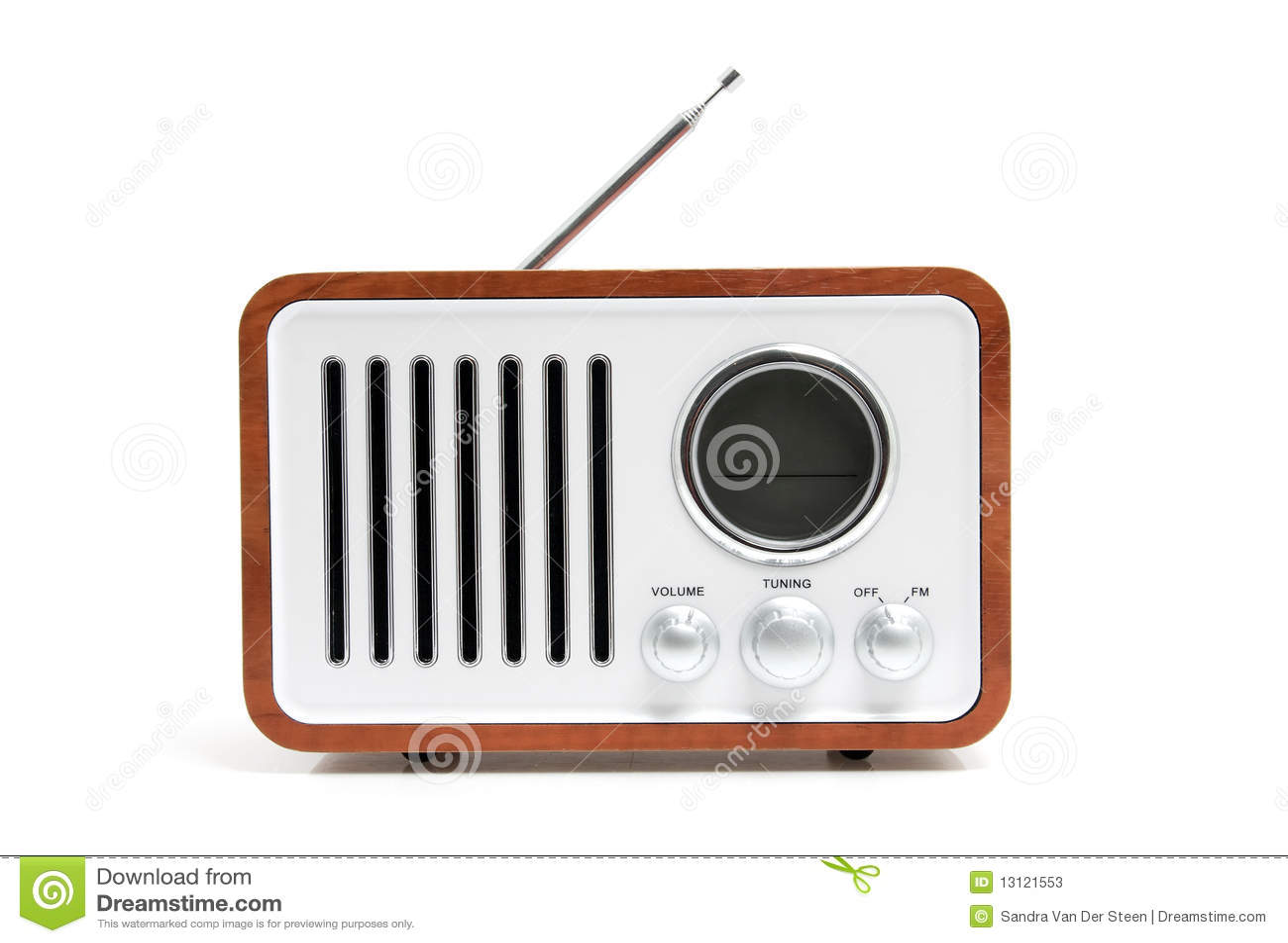 Old Fashioned Transiter Radio