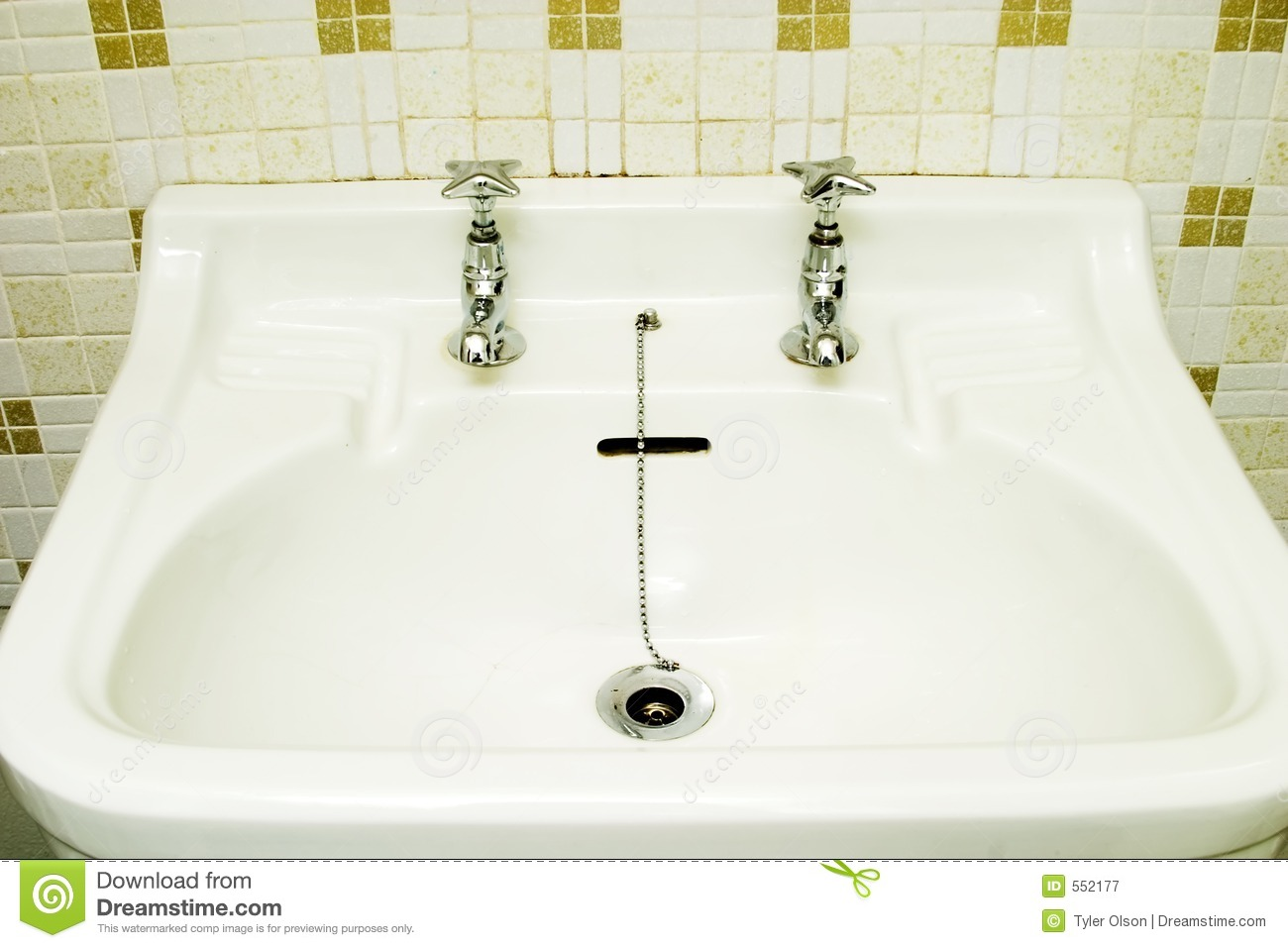 Old Fashioned Sink Royalty Free Stock Photography Image