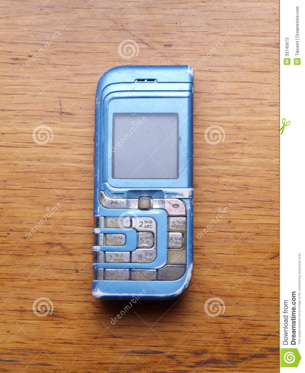 Old fashioned style cell phone stock photos image 33745673 - Vintage look mobel ...