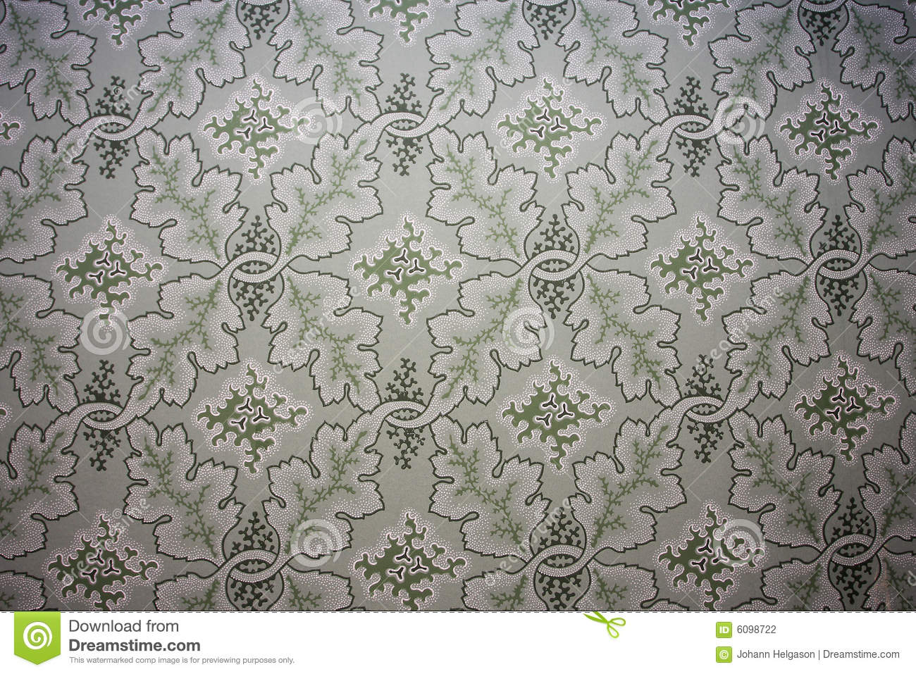 Old Fashioned Wallpaper Stock Photography
