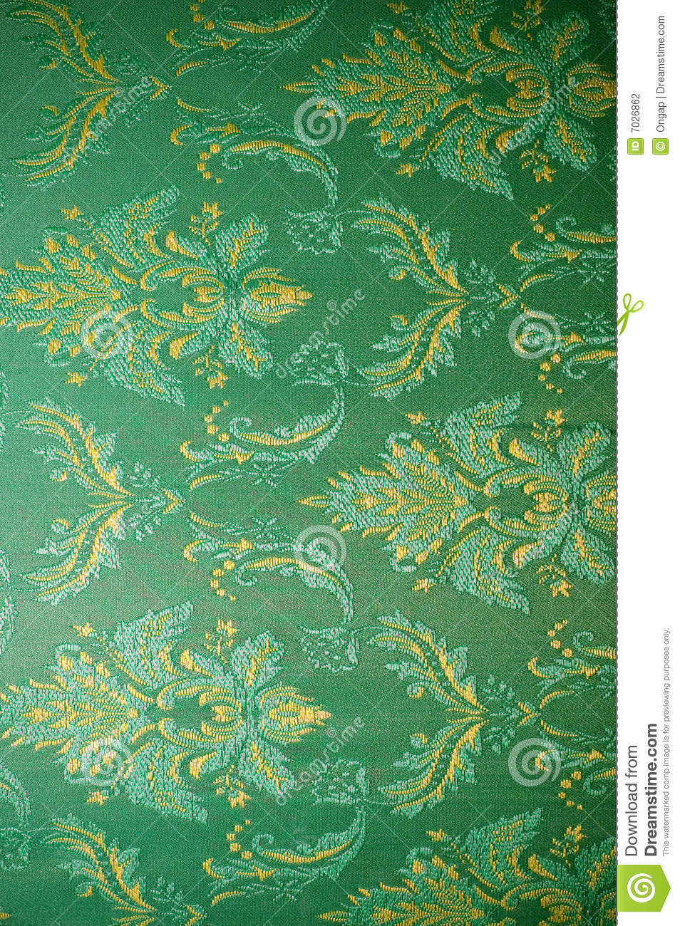 Old Fashioned Wallpaper Stock Photo Image Of Silk
