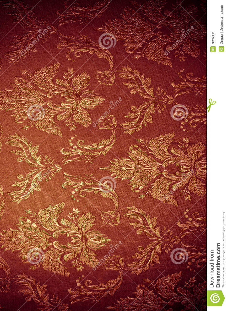Old-fashioned Wallpaper Stock Image