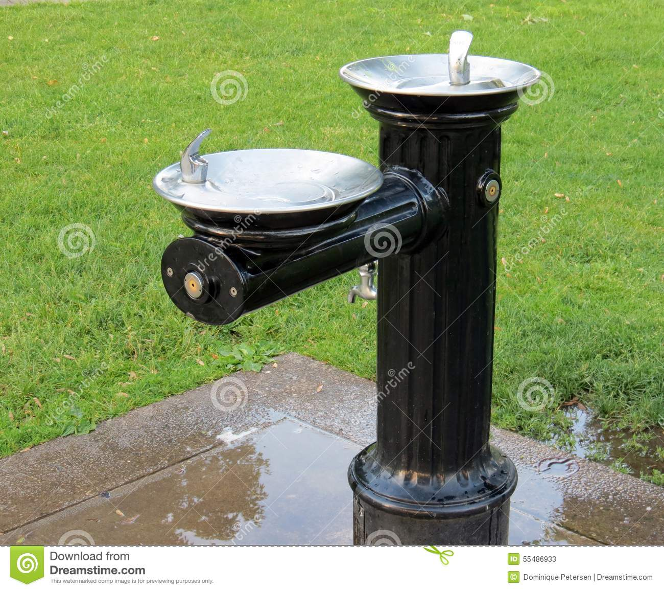 Old Style Water Fountain