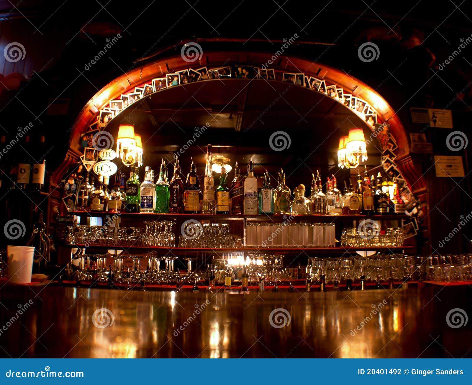 Old Fashioned Western Saloon Bar