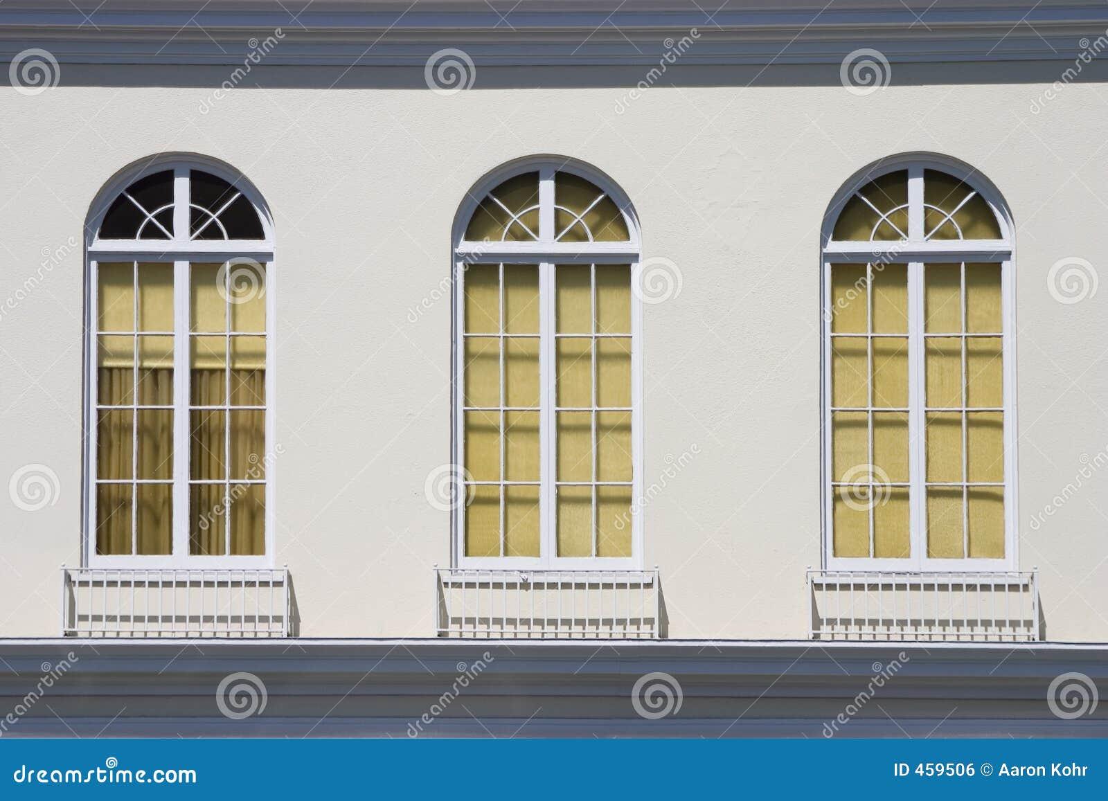 Old Fashioned Windows Royalty Free Stock Image Image 459506