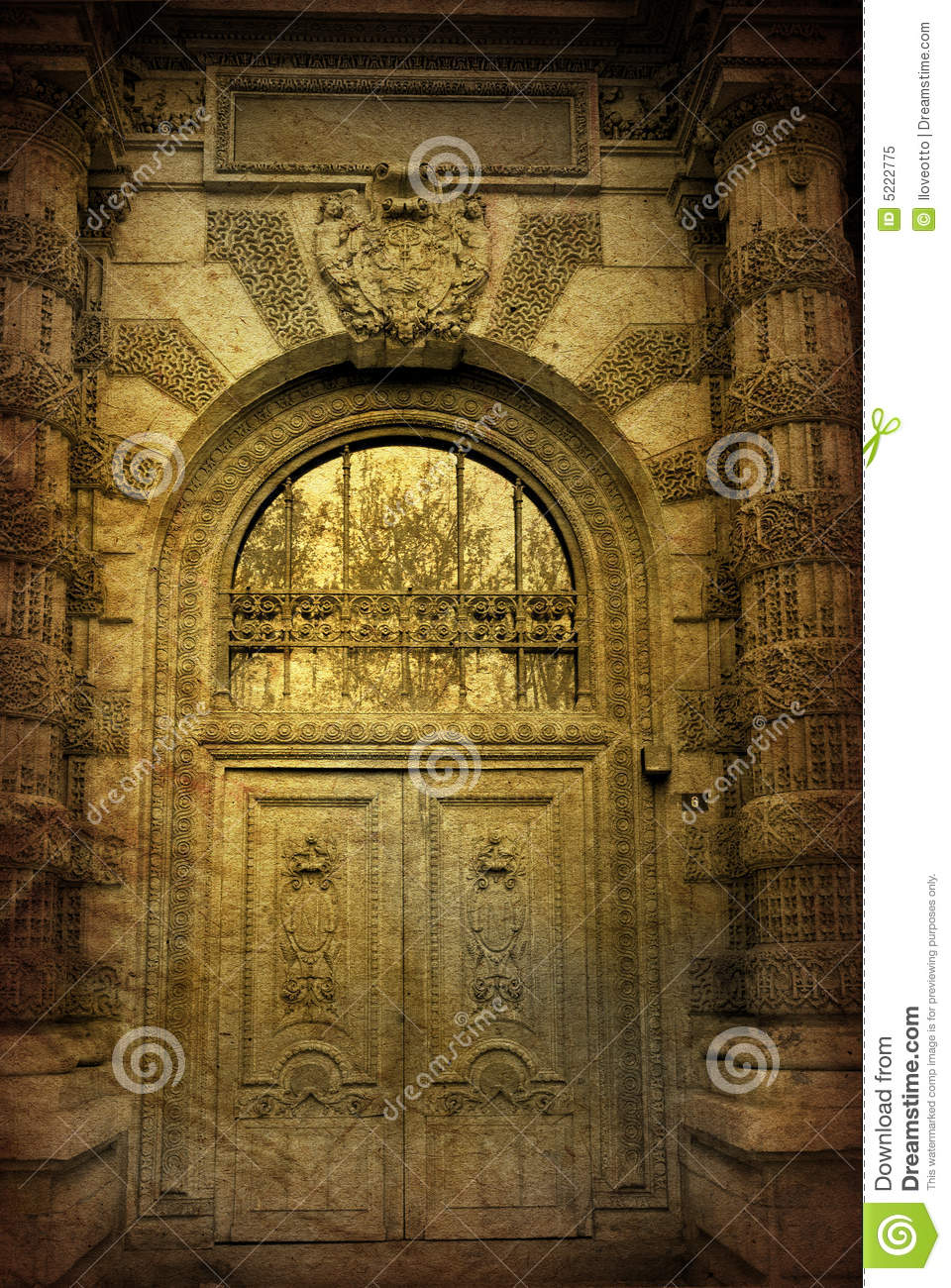 Old Fashioned Door Royalty Free Stock Image