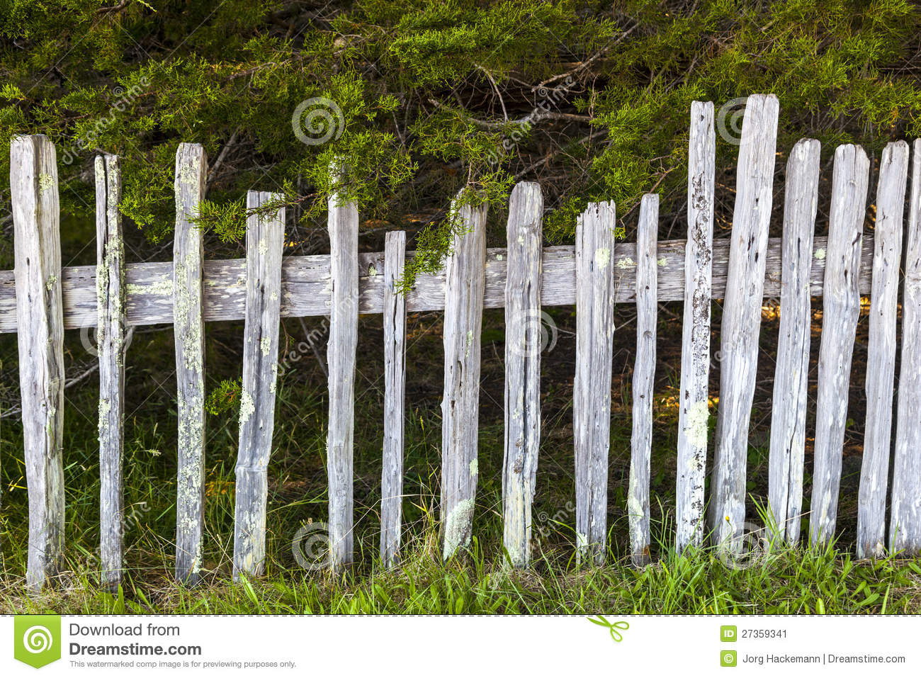 Old fence at fort ross historic state stock image image 27359341
