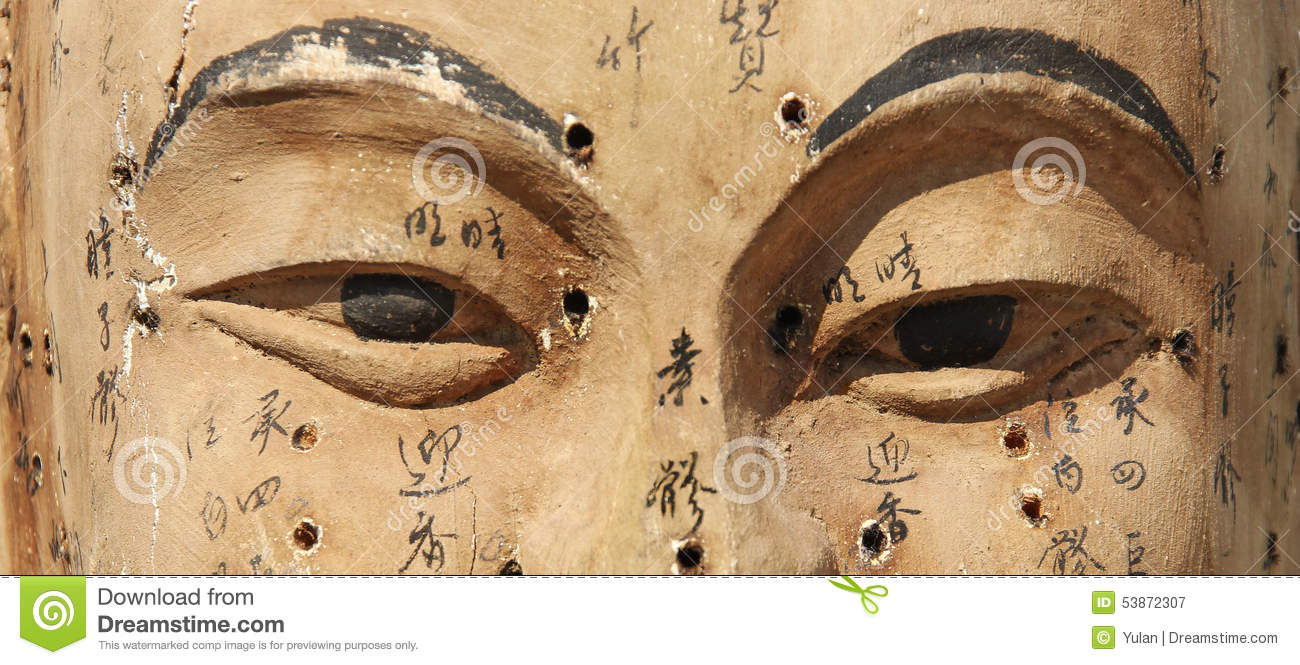 Old Figure With Acupuncture Points Stock Image Image Of Altenative Background 53872307