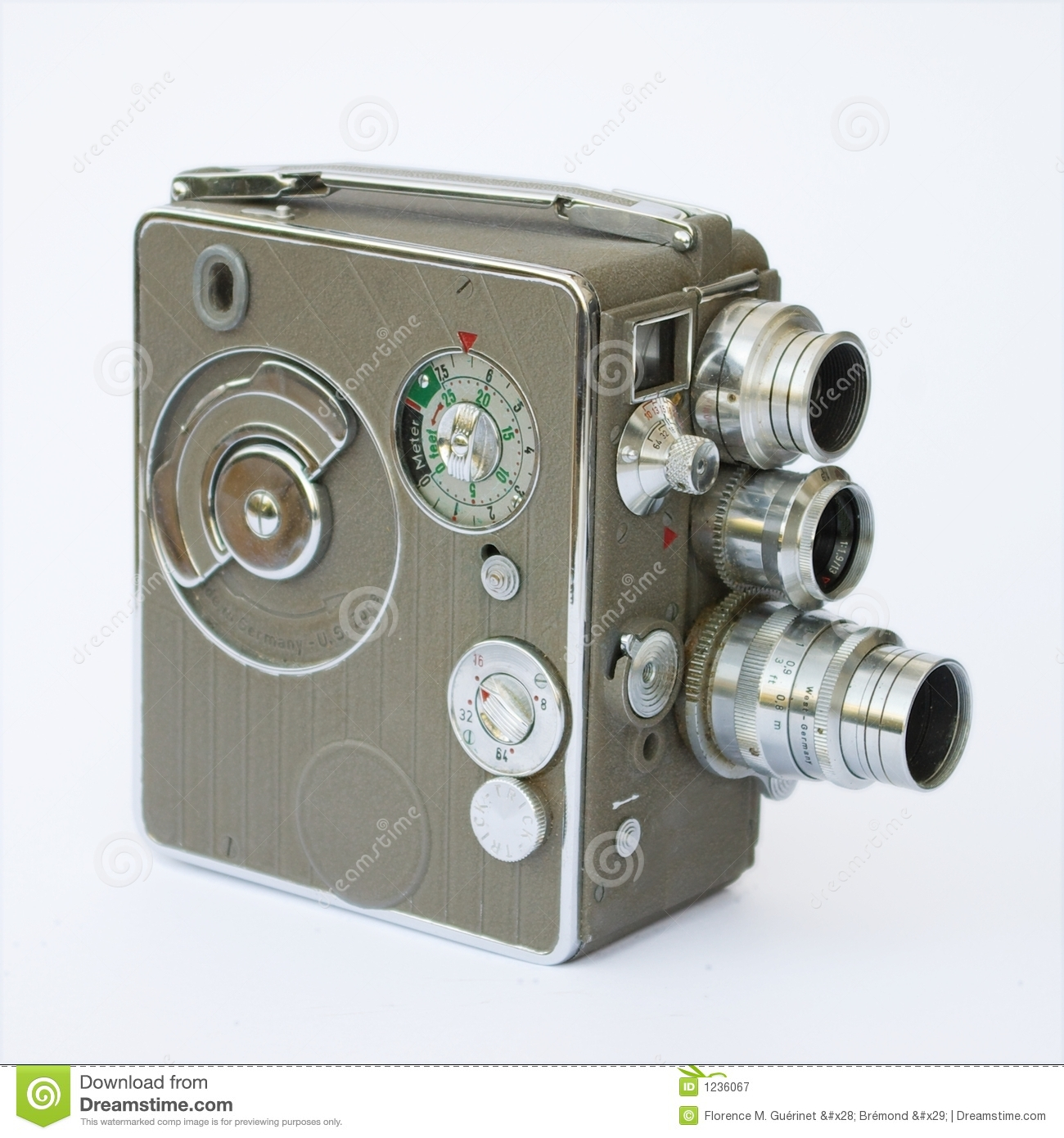 Old Film Camera Royalty Free Stock Photography - Image: 1236067