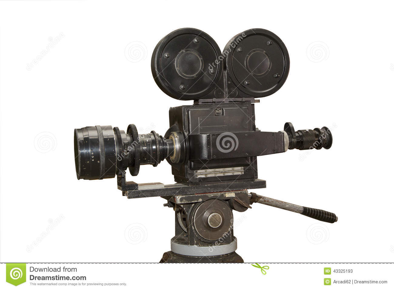 Old Film Movie Camera Stock Photo Image 43325193