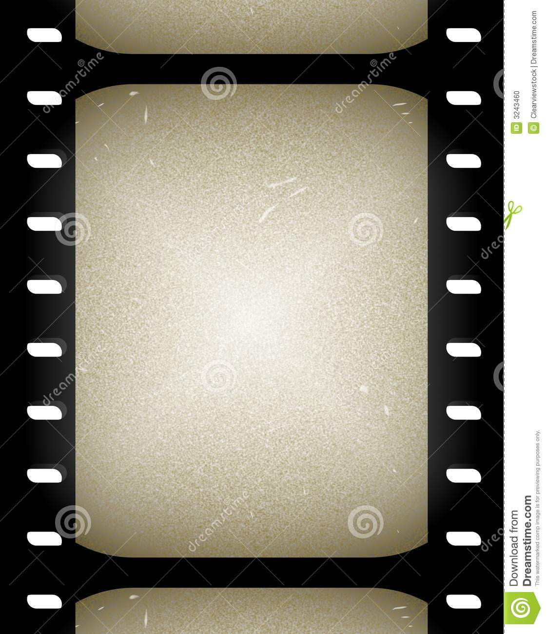 Old Film Or Movie Frames Illustration 3243460 - Megapixl