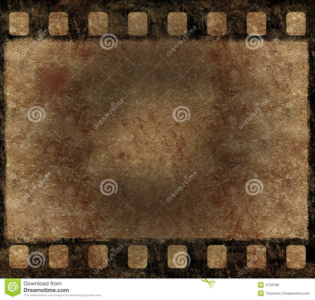 Old Film Negative Frame - Grunge Background Royalty Free ...