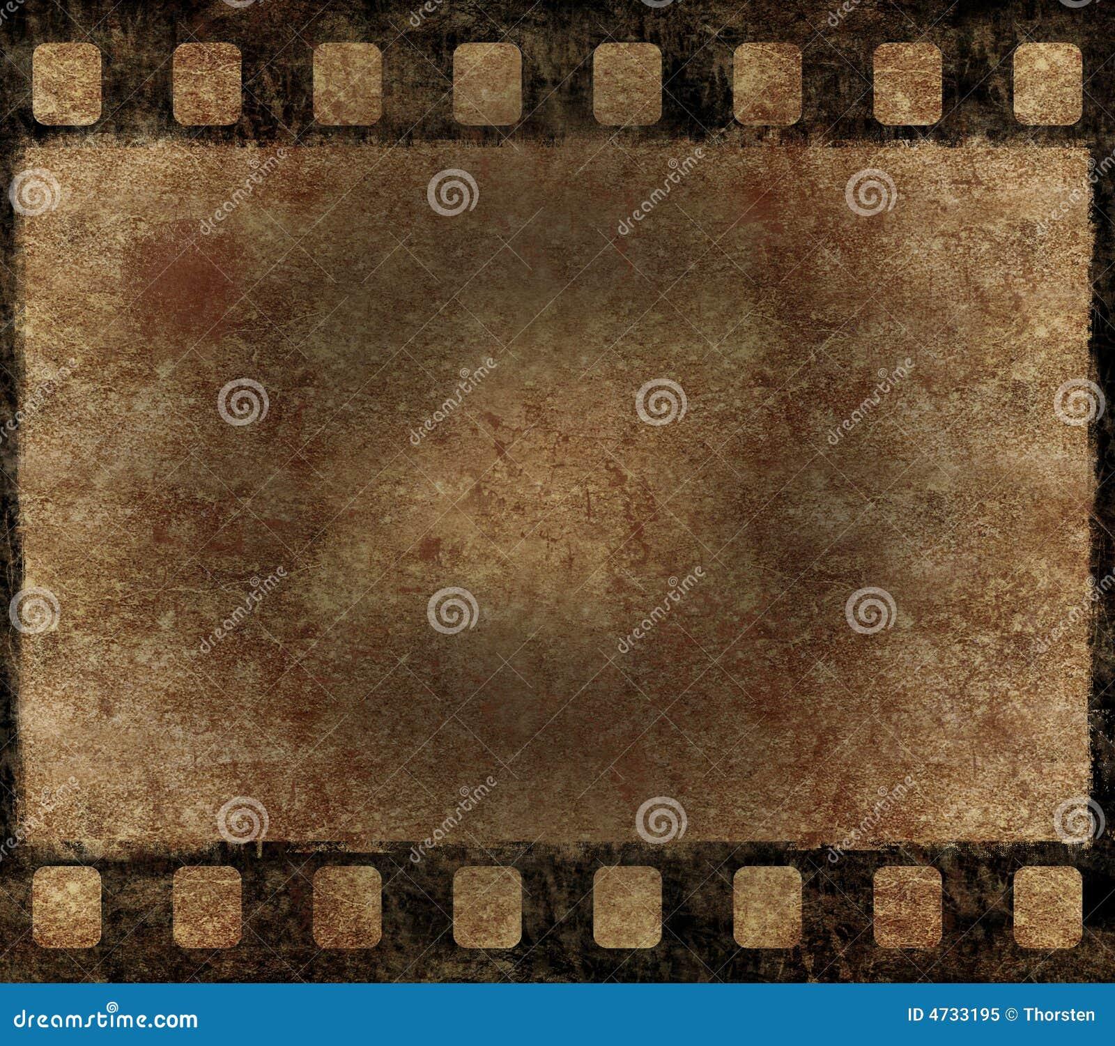 Old Film Negative Frame - Grunge Background Royalty Free ...