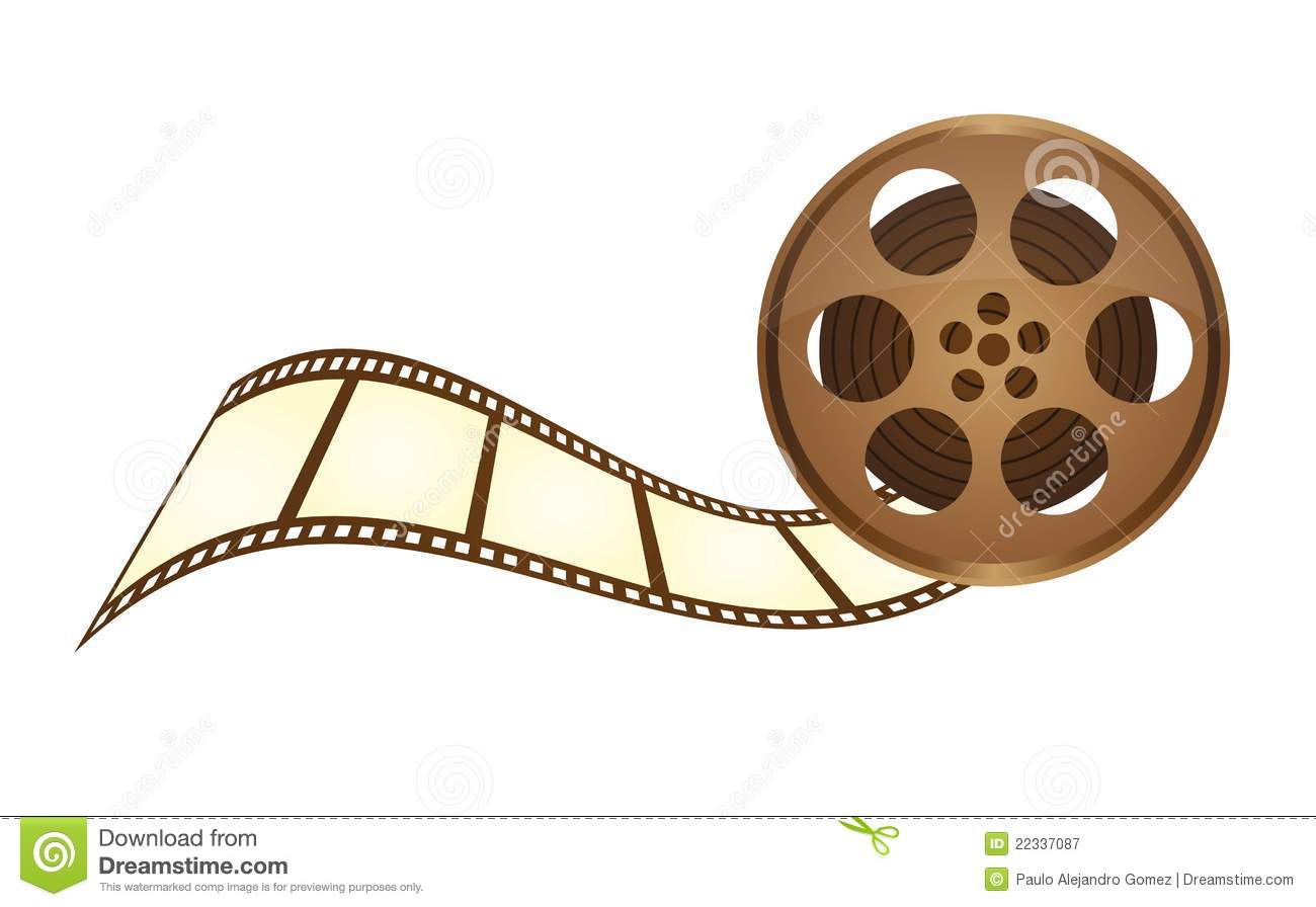 old film tape royalty free stock photography image 22337087 movie reel clipart transparent free clipart movie reel