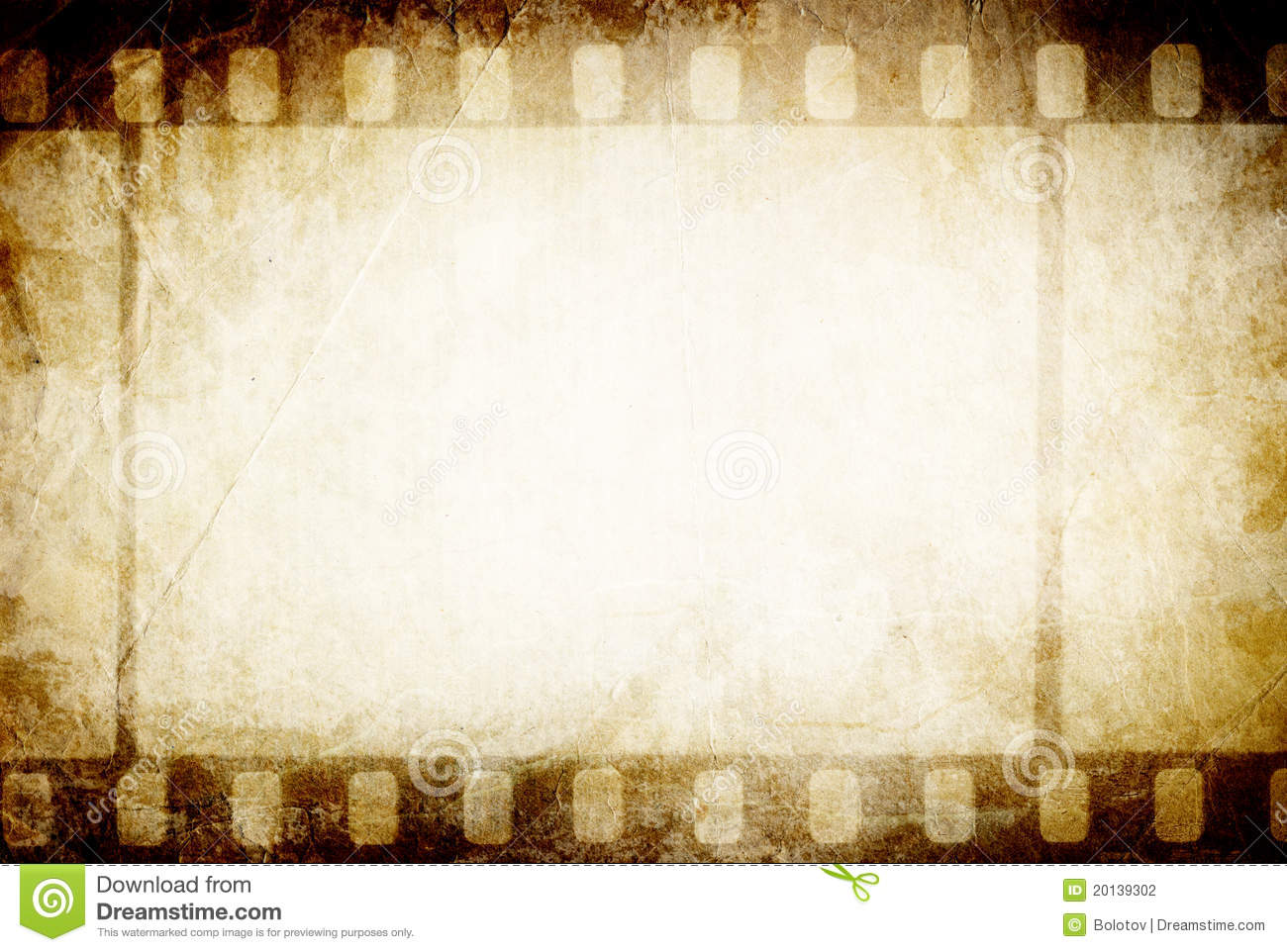 Old Filmstrip. Stock Photography - Image: 20139302 Vintage Border Vector