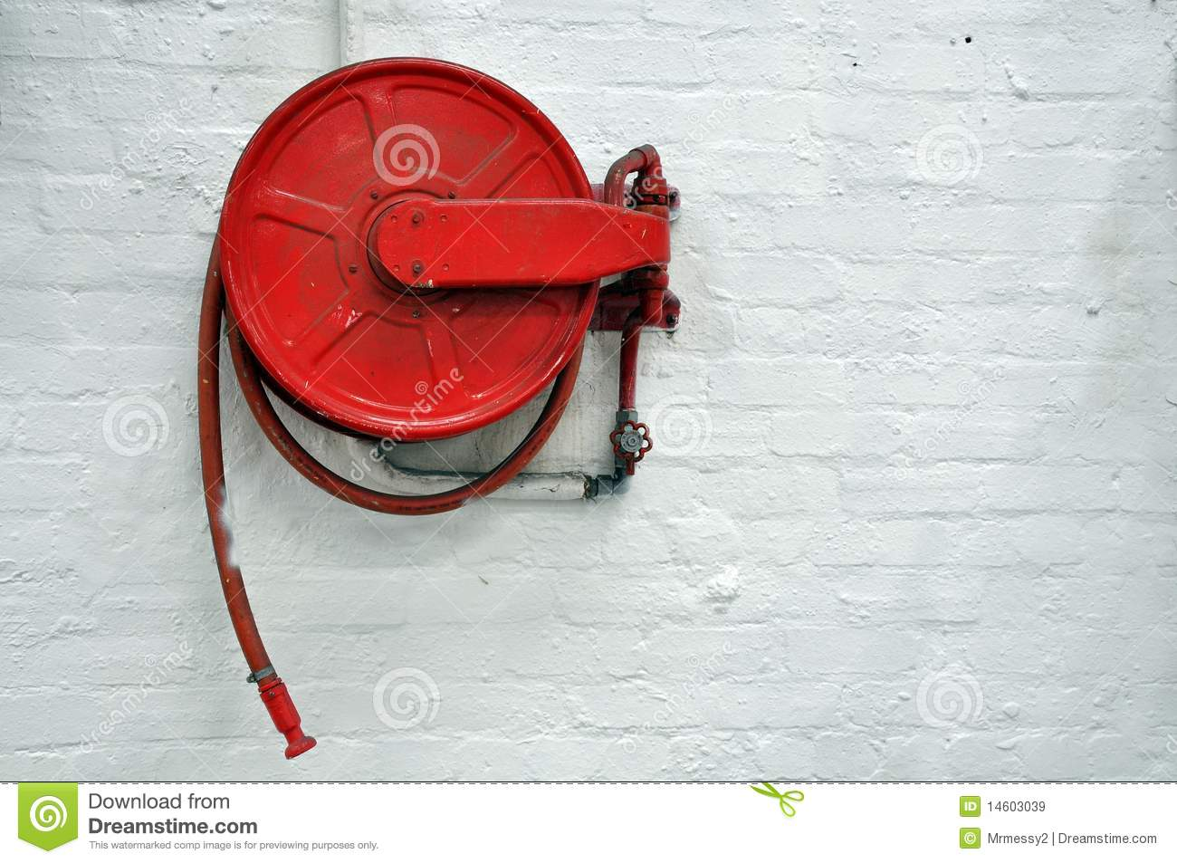 fire hose reel how to use