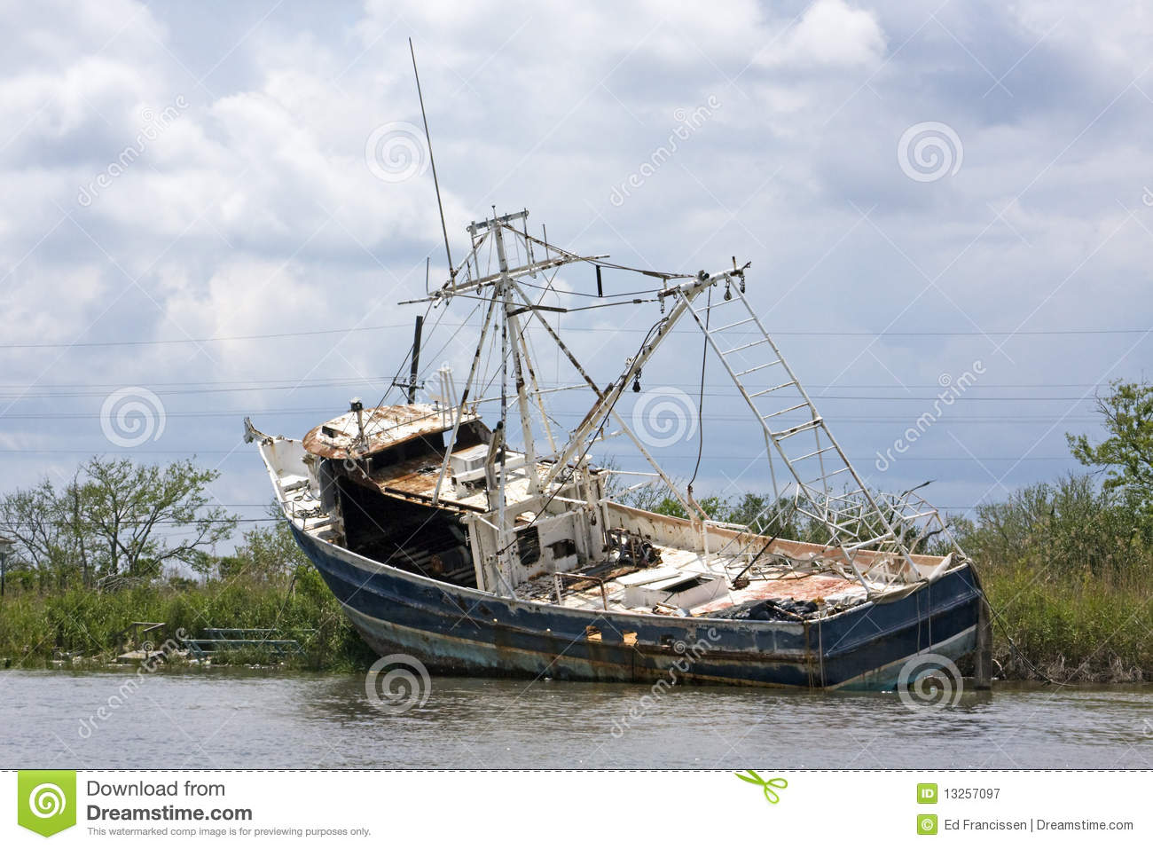 An old fishing boat royalty free stock photography image for Old fishing boat